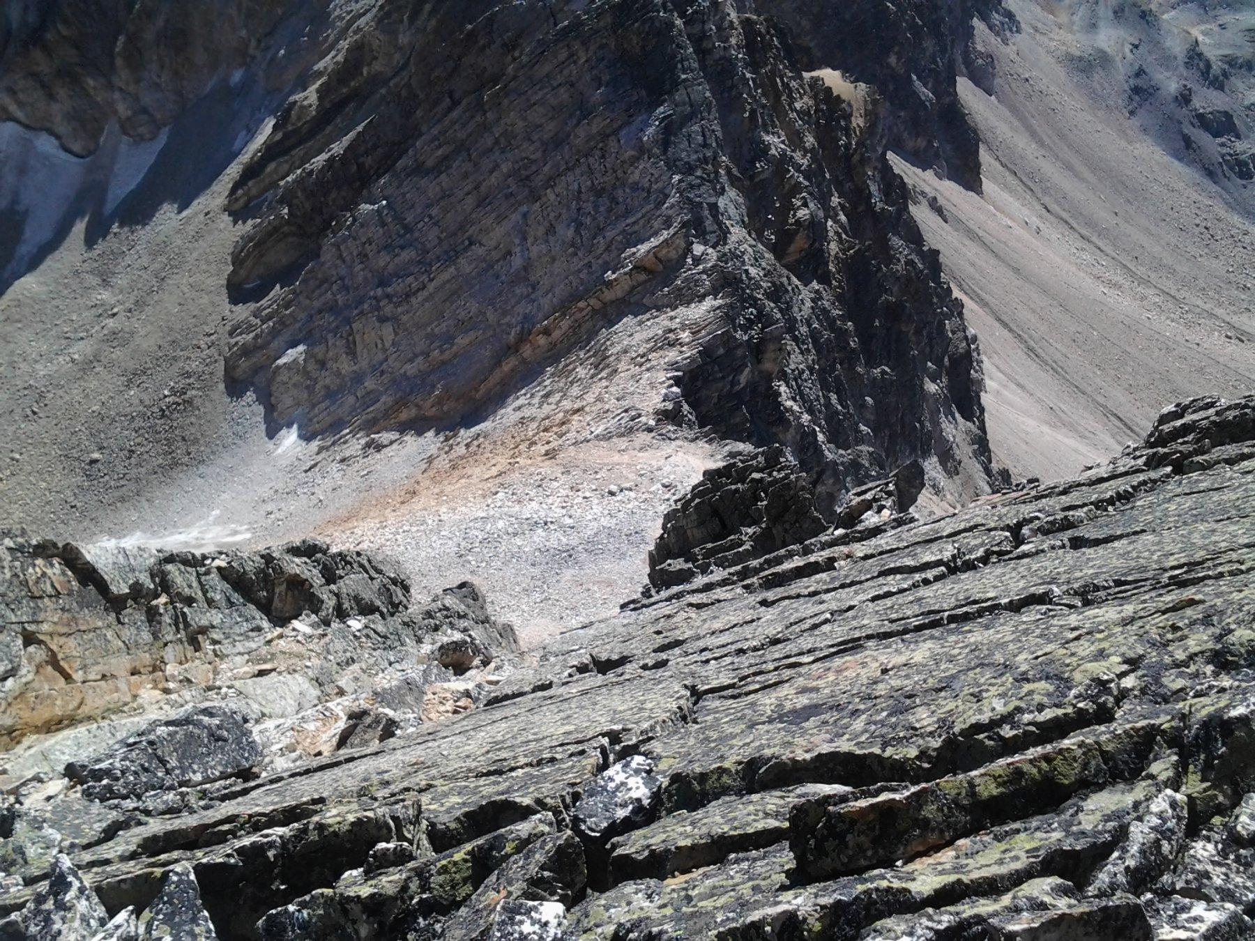 Vista dalla cima sul colle del Thabor