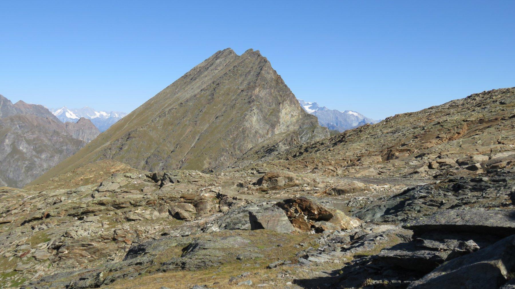 Giunti in vista del Mont Rafrey