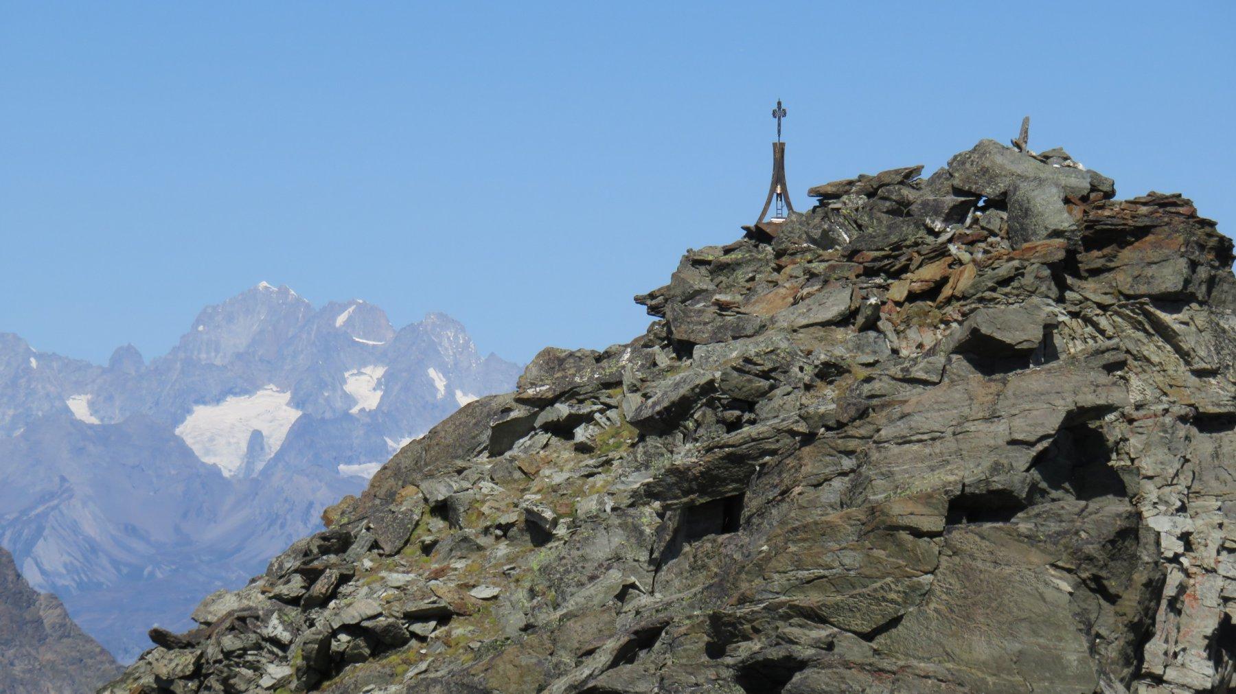 Arrivo in vetta del Mont Rafrey
