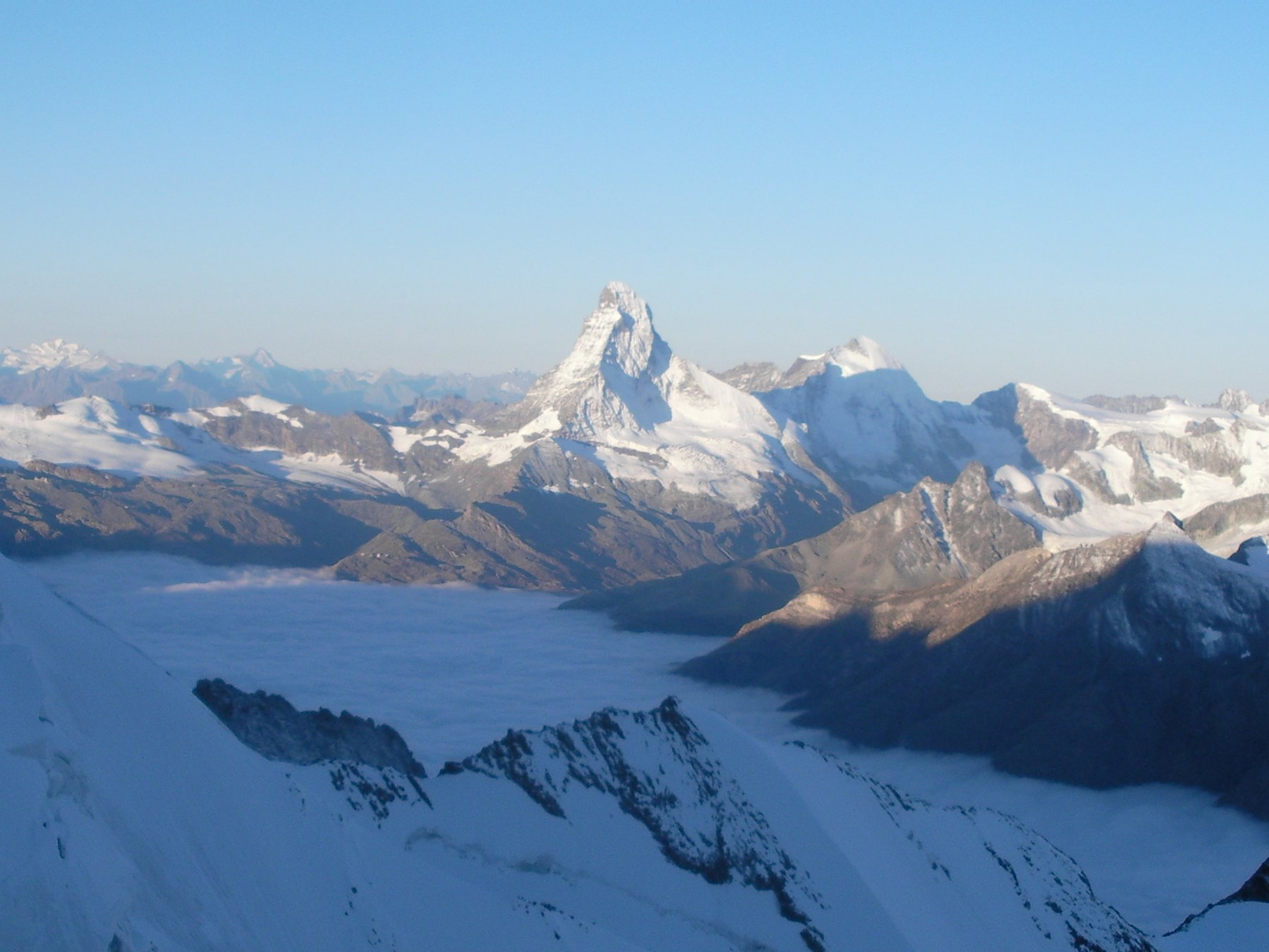 il Matterhorn..dalla Festigrat..