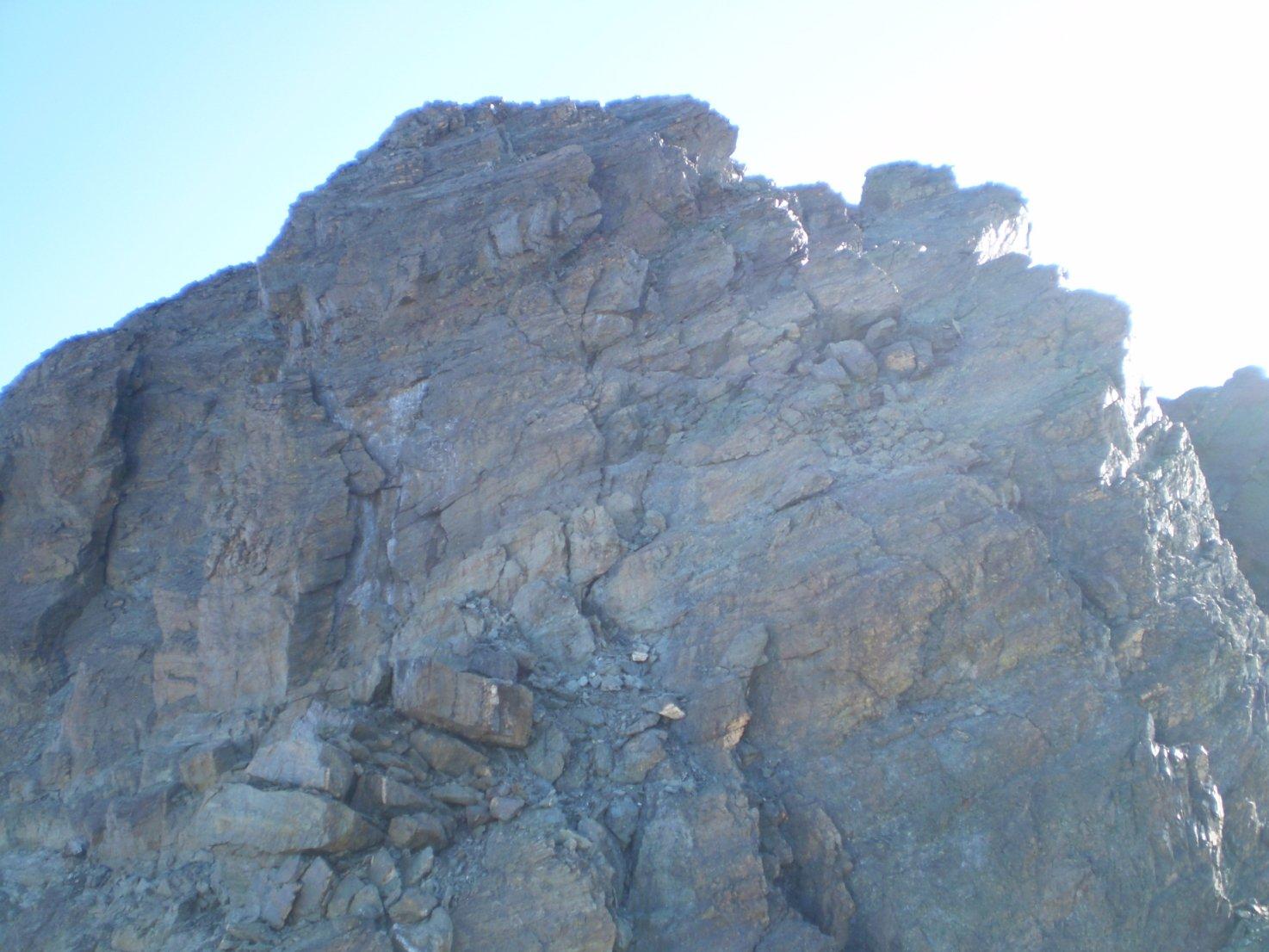 cresta dal passo Perotti alla punta Nizza