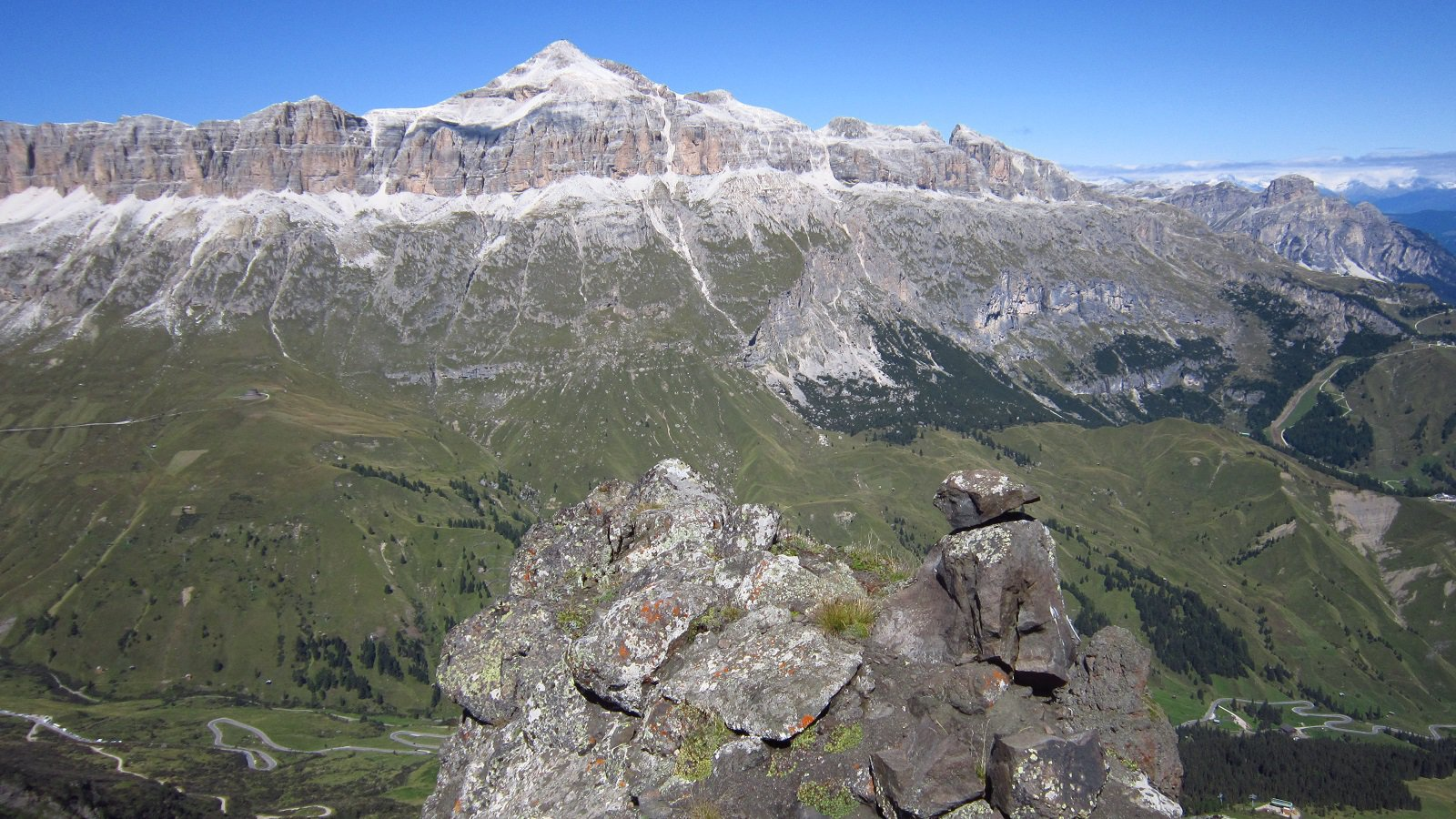 Panorama dallo Sfersac