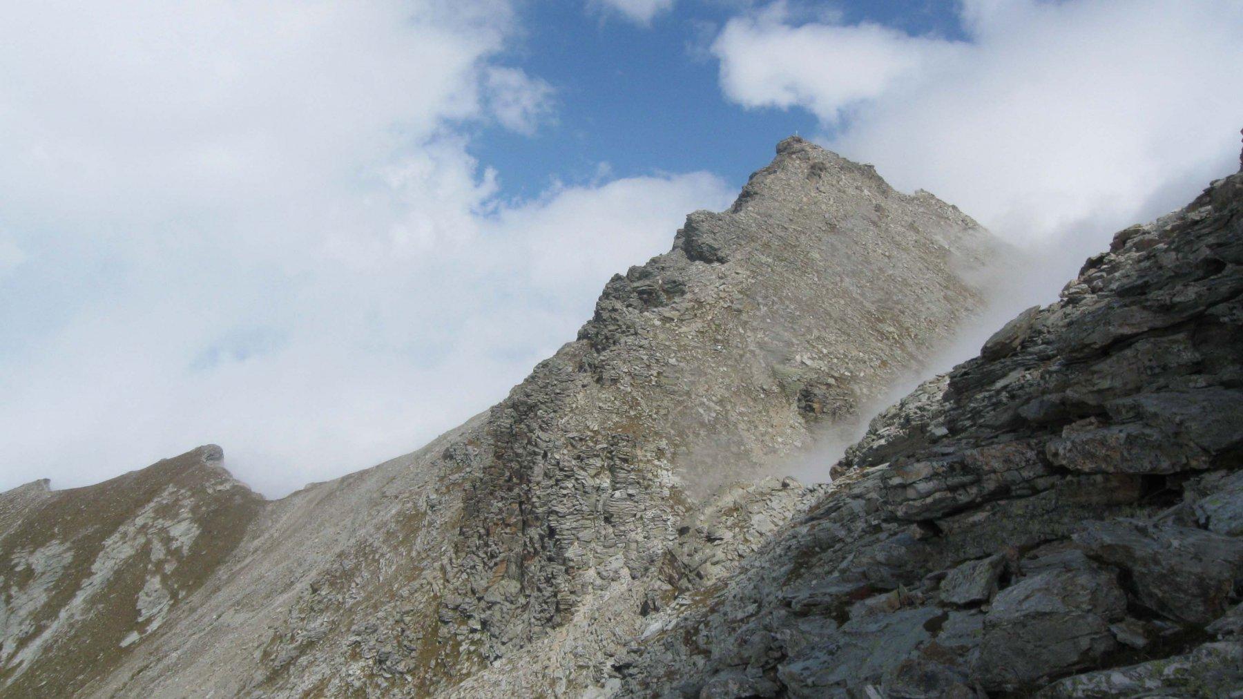 la cima del Pelvo e la cresta ovest