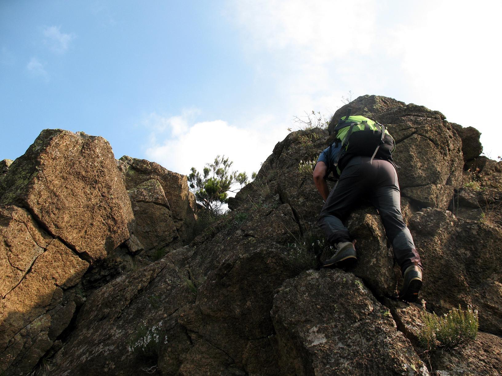 Cresta Ovest del Tobbio