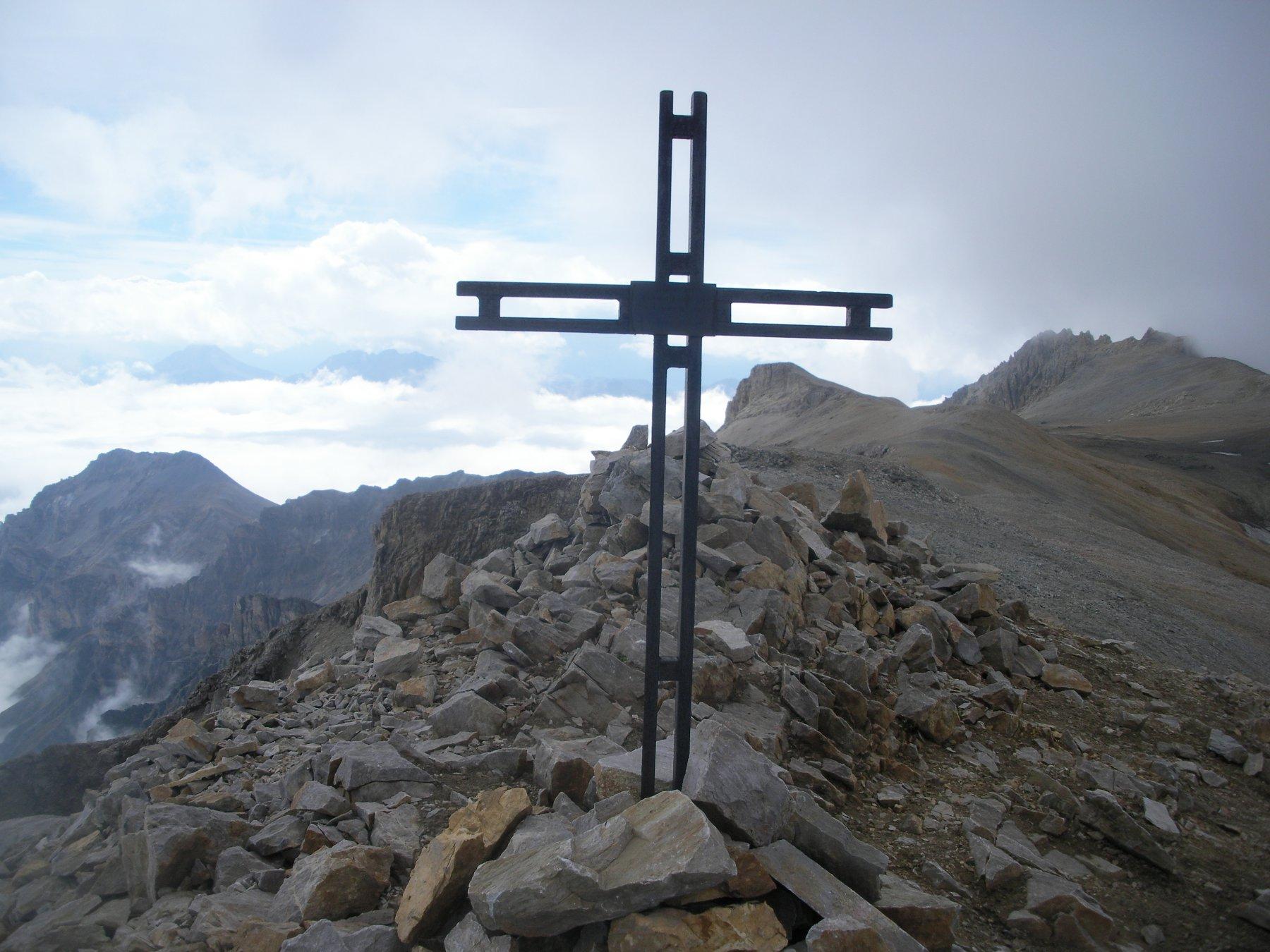 e per finire il Roc Peirous.. con vista sul Seguret e cima del Vallonetto a dx..
