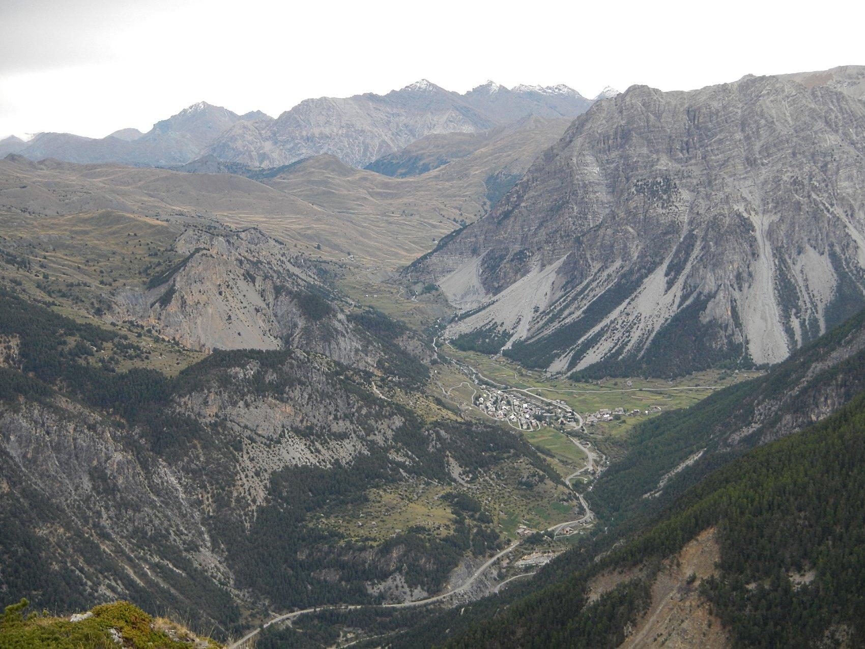 vista sulla Valle di Cervières