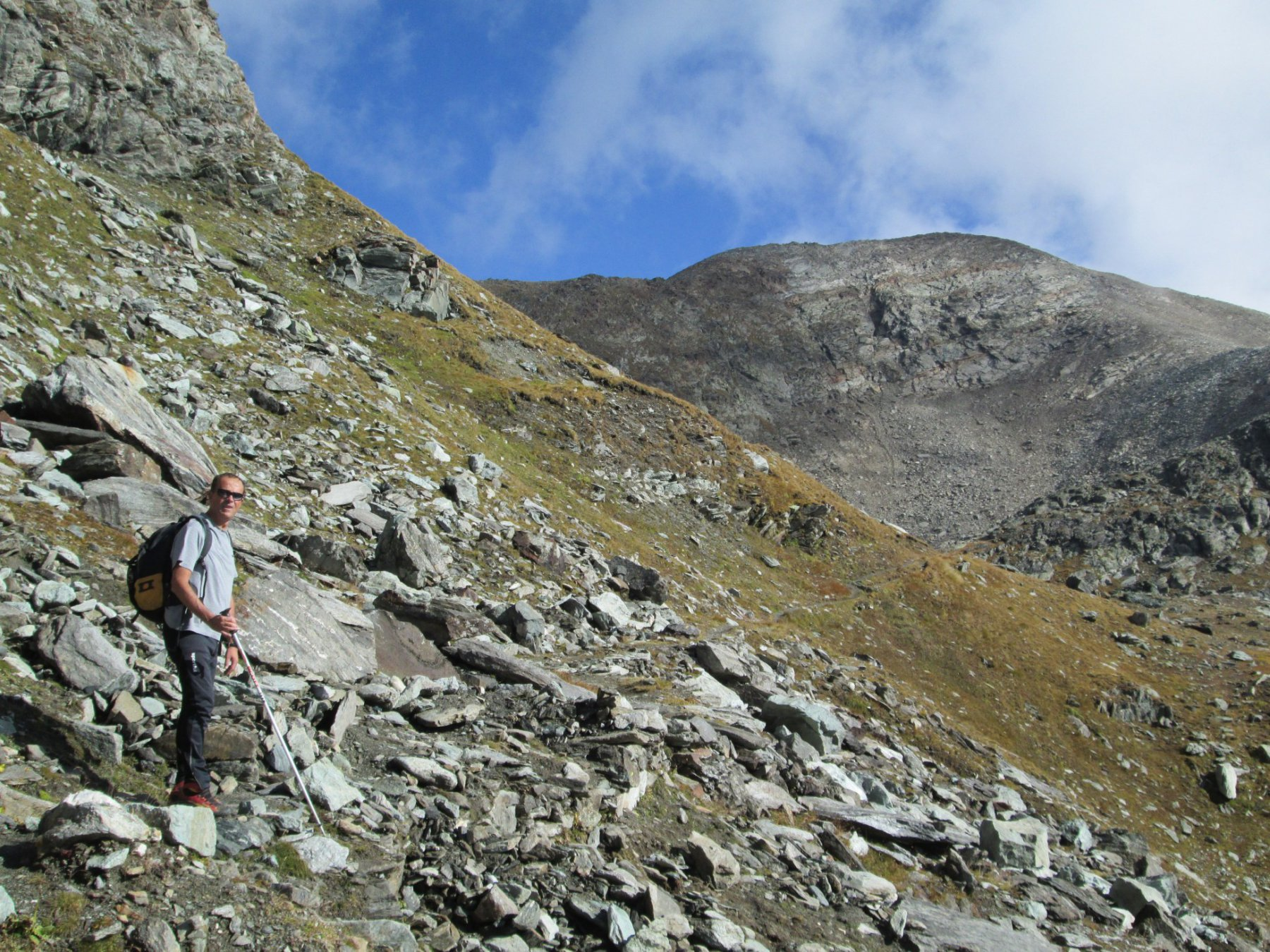Mont Glacier sullo sfondo