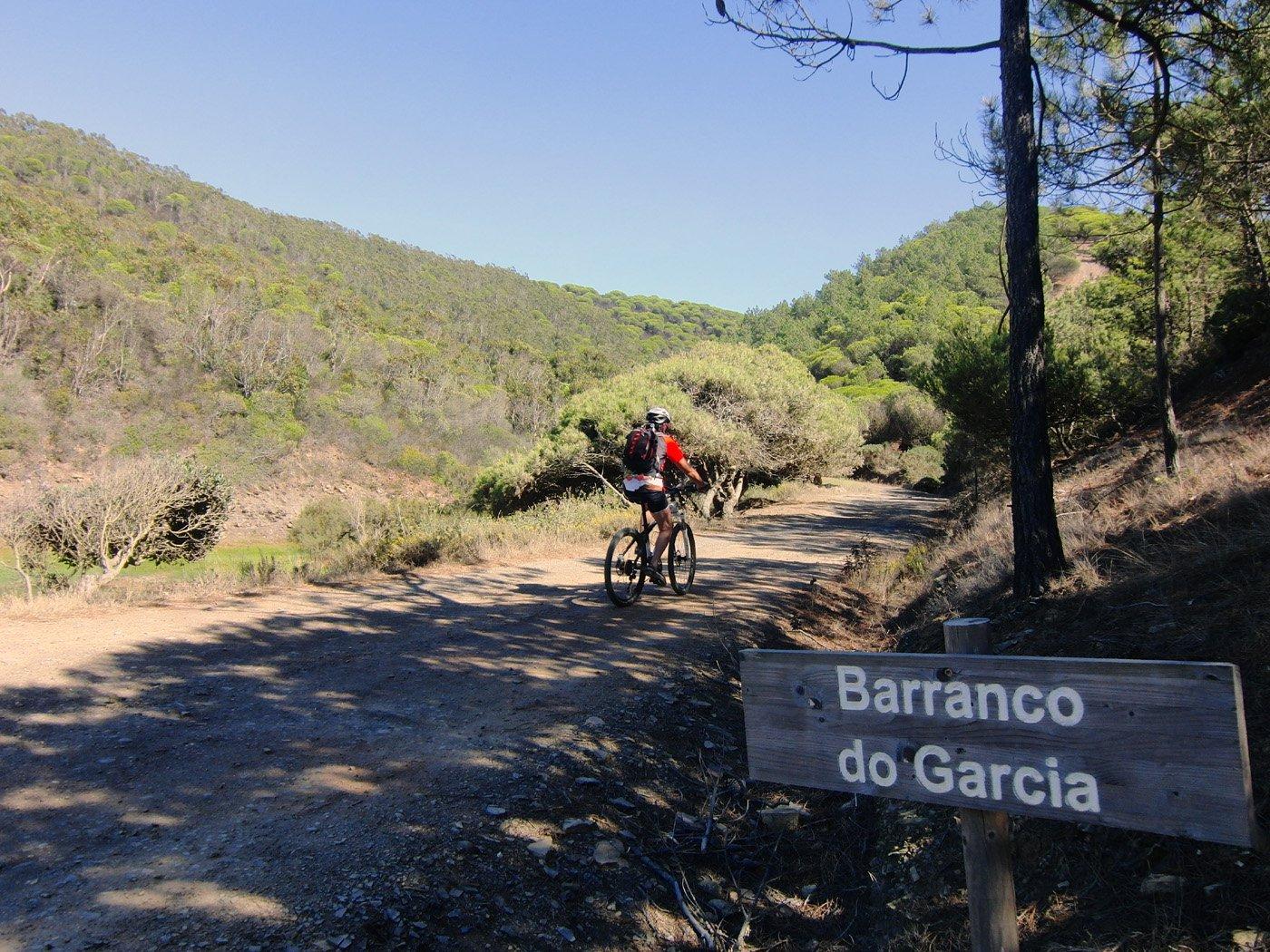 Sterrata del Barranco