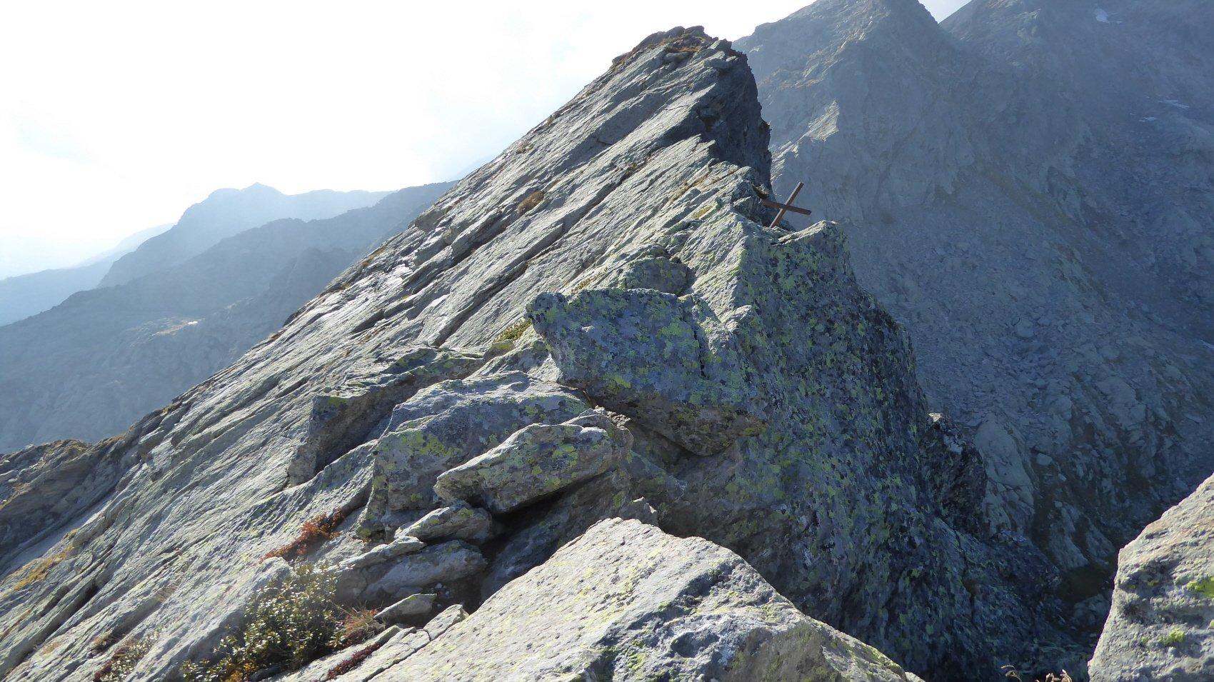 Punta Henragher e Cresta per la Cima d'Arlens