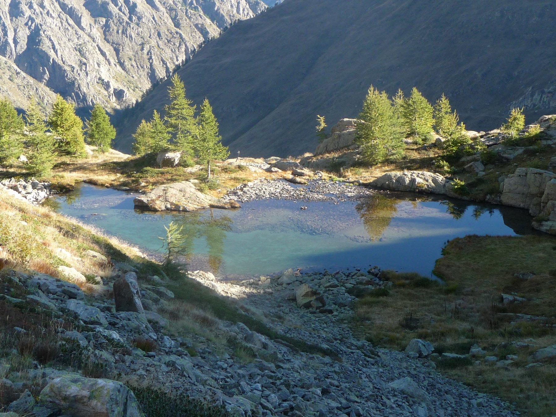 il delizioso laghetto Scolettas