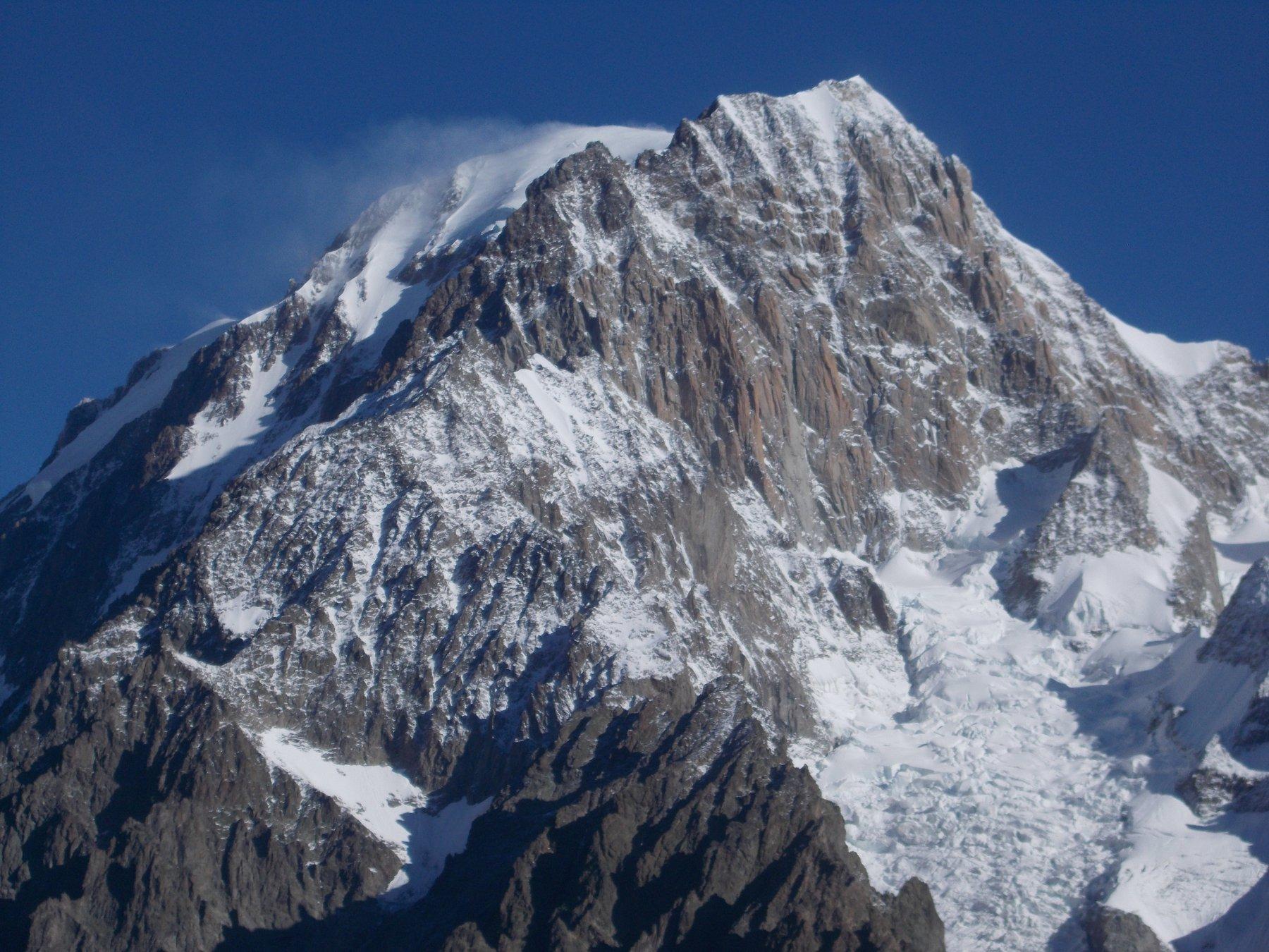 sua maestà il Monte Bianco dal Mont Fortin
