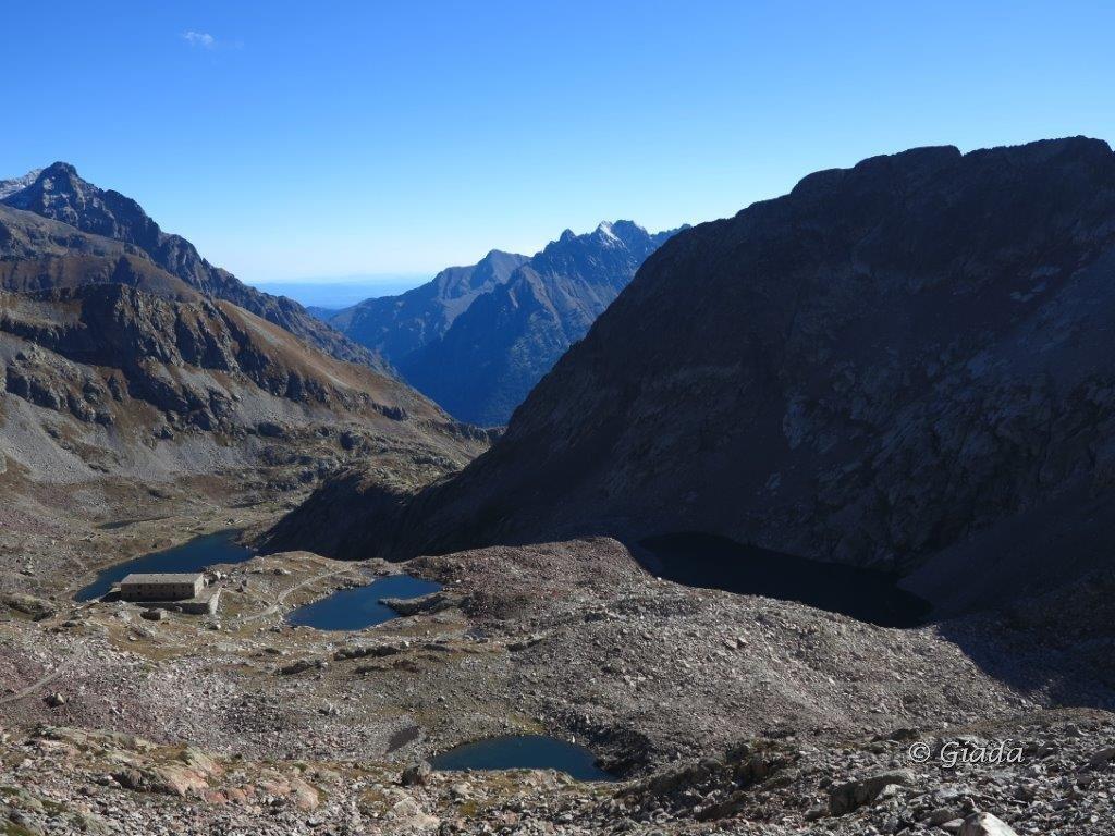 Dalla Bassa del Druos vista verso i Laghi di Valscura