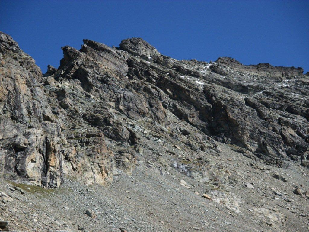 Cresta di discesa punta Nord