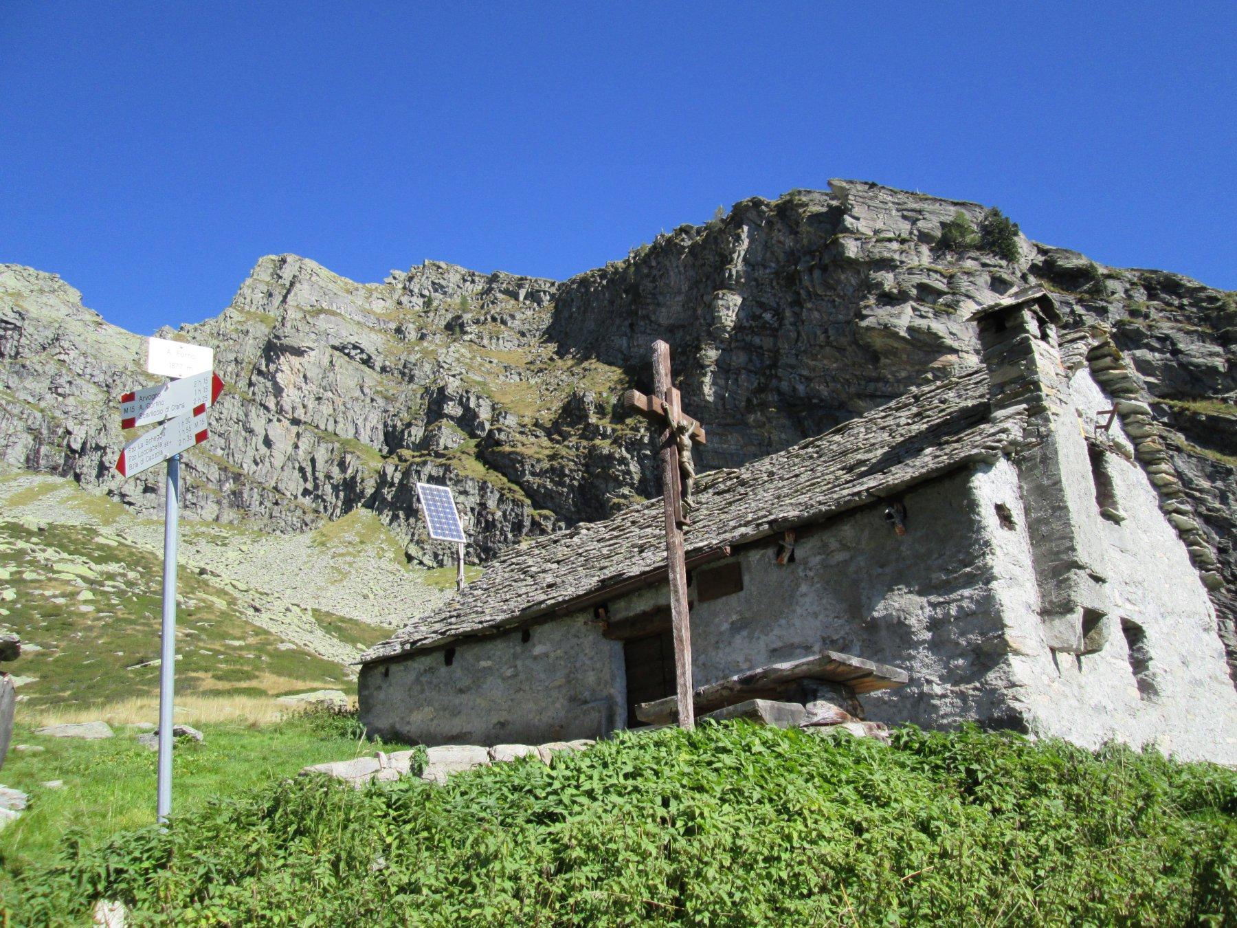 alpe forno rifugio Regi