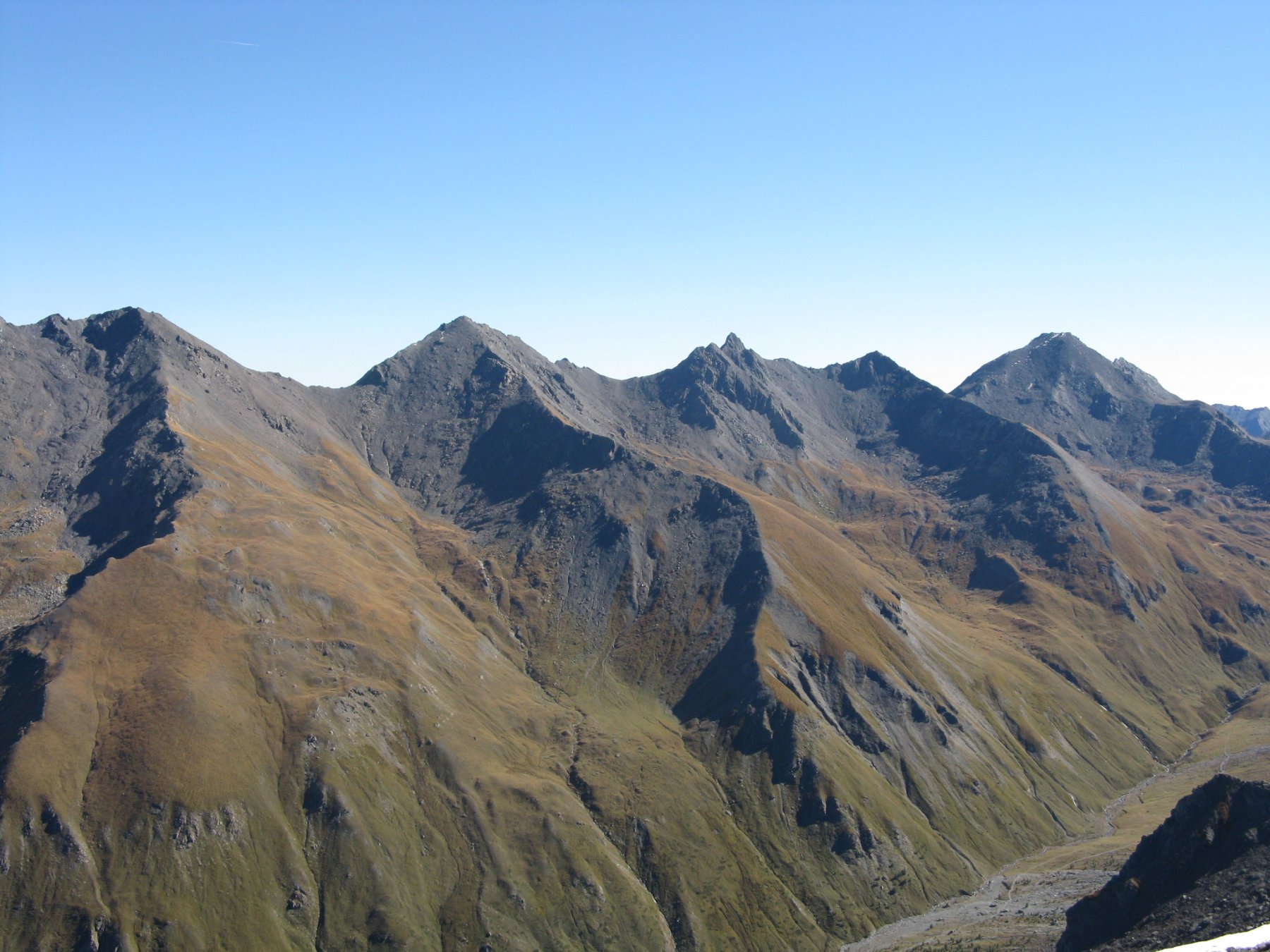 Monte Pelvo, Serpentiera e Ramiere