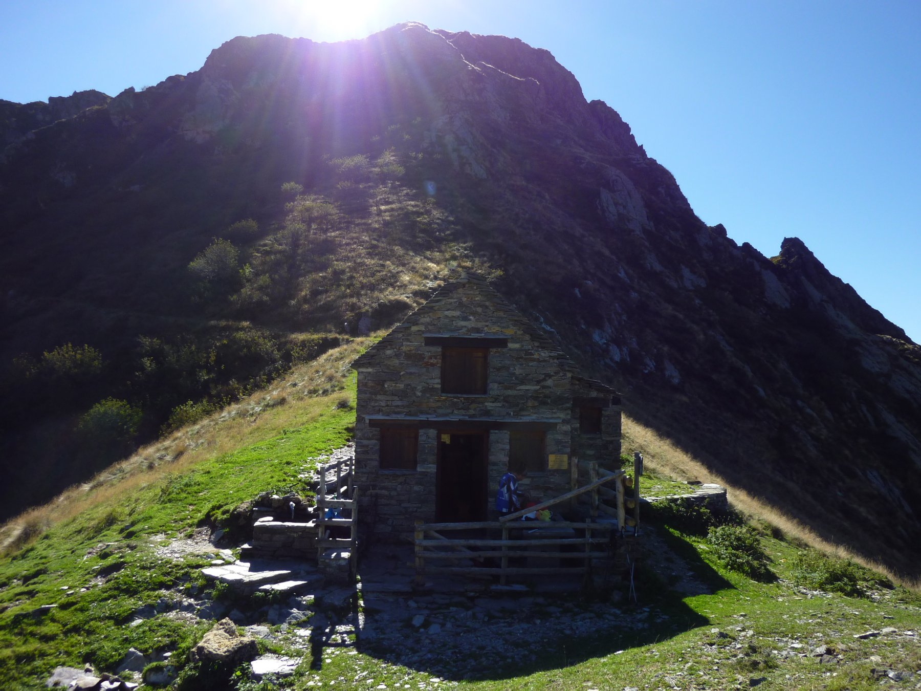 il bivacco all'Alpe della Colma
