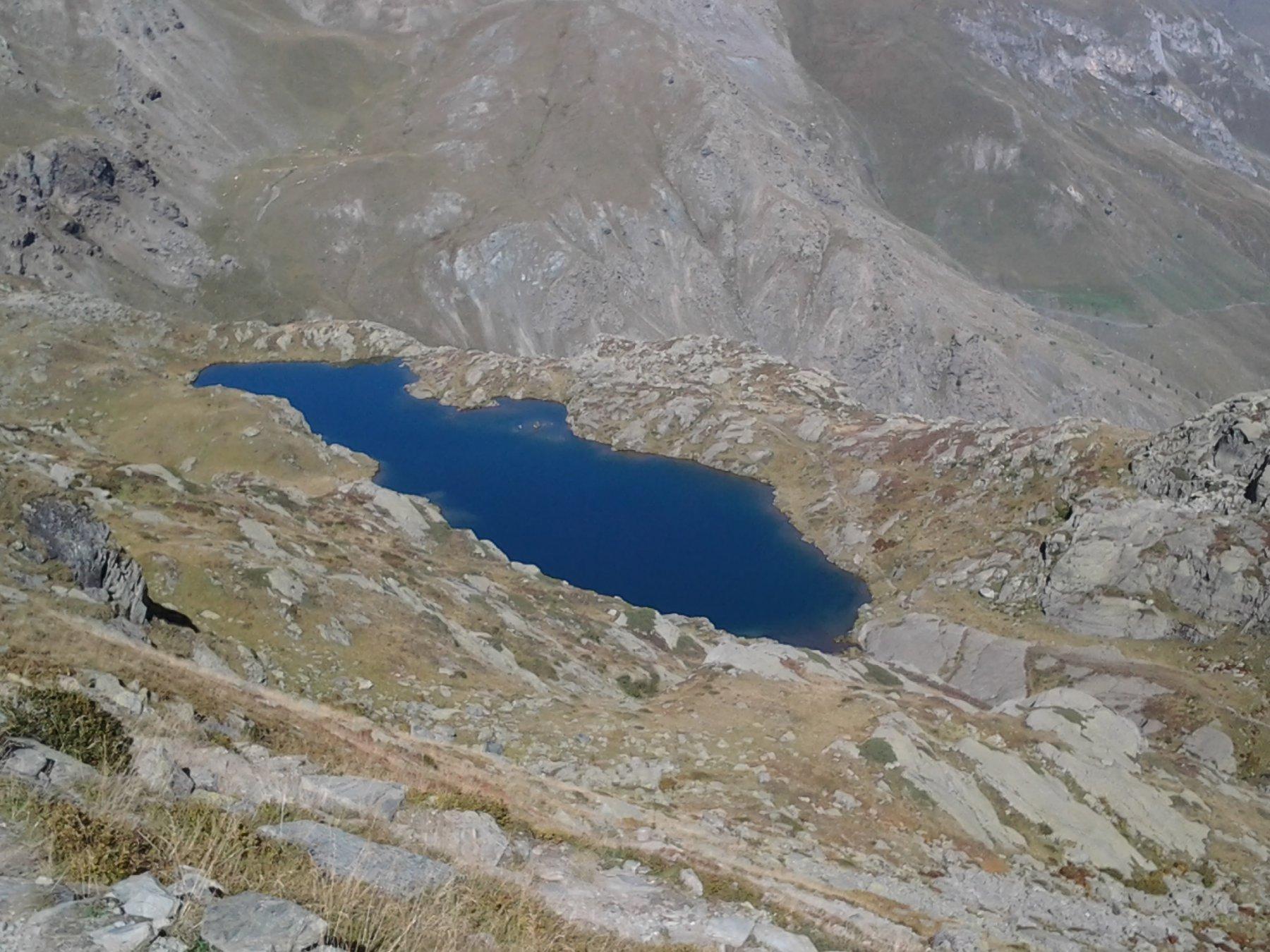 Lago Superiore, dall'alto
