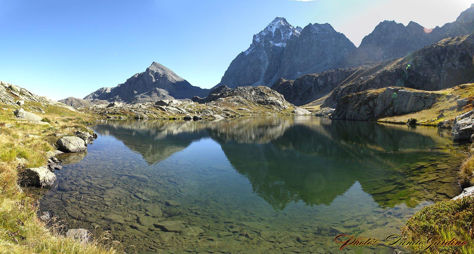 Dal Lago Superiore il panorama