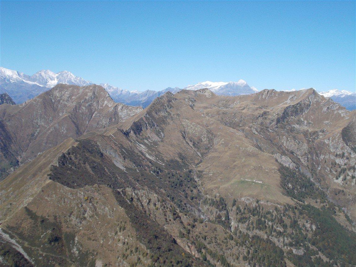 Monte Togano, Passo del Biordo, Pizzo Nona e Pizzo Ragno
