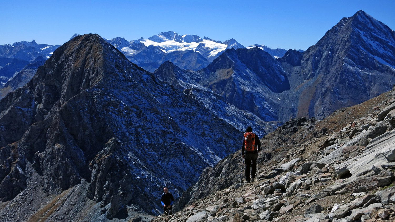 Monte Delà a sinistra,Punta Tersiva a destra e Granpa sullo sfondo