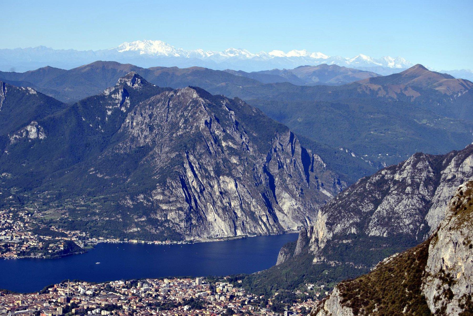 Lecco, Moregallo, Corni di Canzo, Palanzone, Monte Rosa...