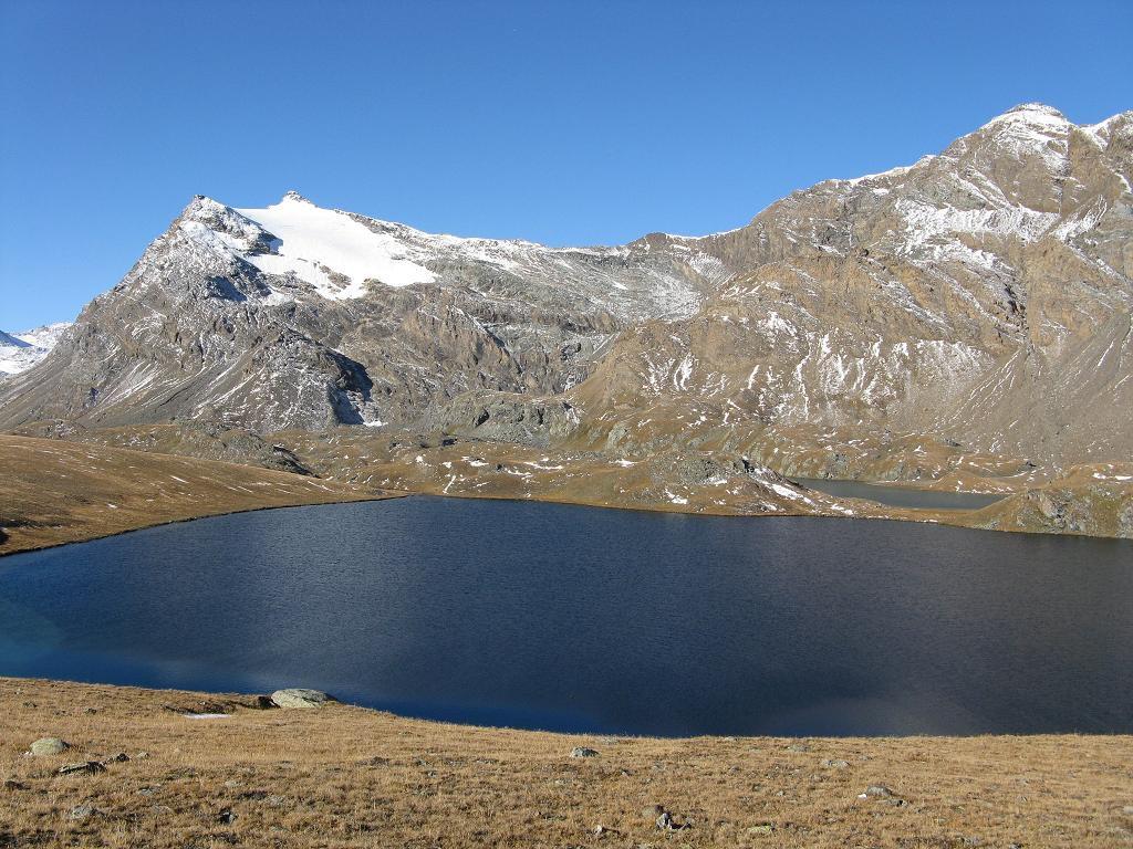il Lago Rosset con la Basei
