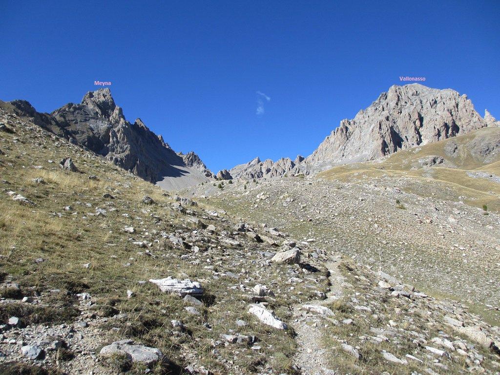Vallonasso (Monte) da Larche per il Colle Colle Sautron e il Canale E 2015-09-24