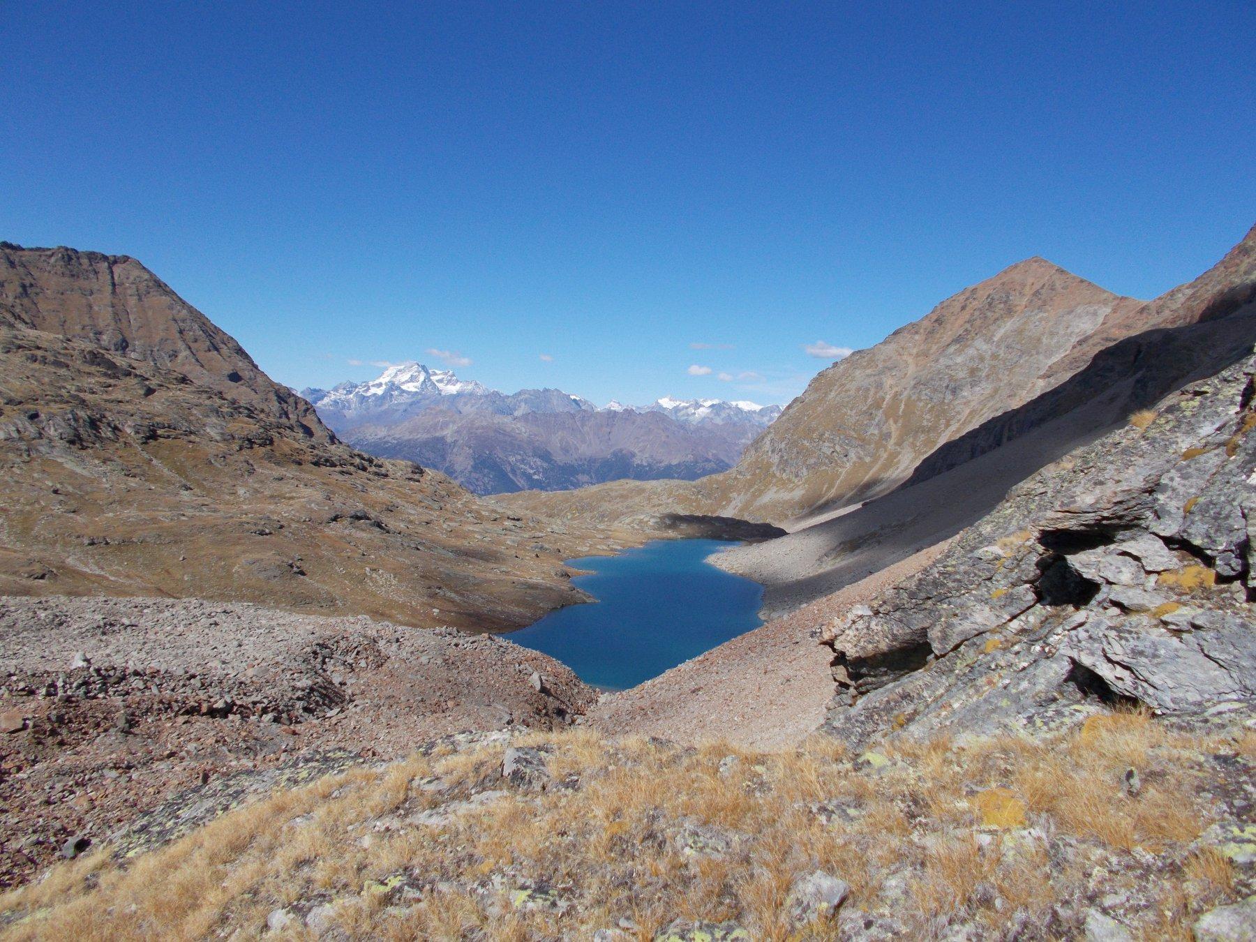 Il lago lungo..dal sentiero al Colle di Leppe..