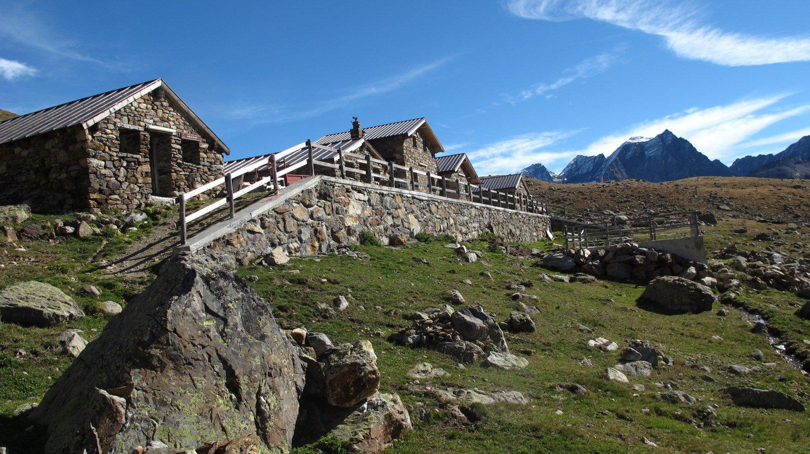 Gli splendidi alpeggi di Plan Vayun