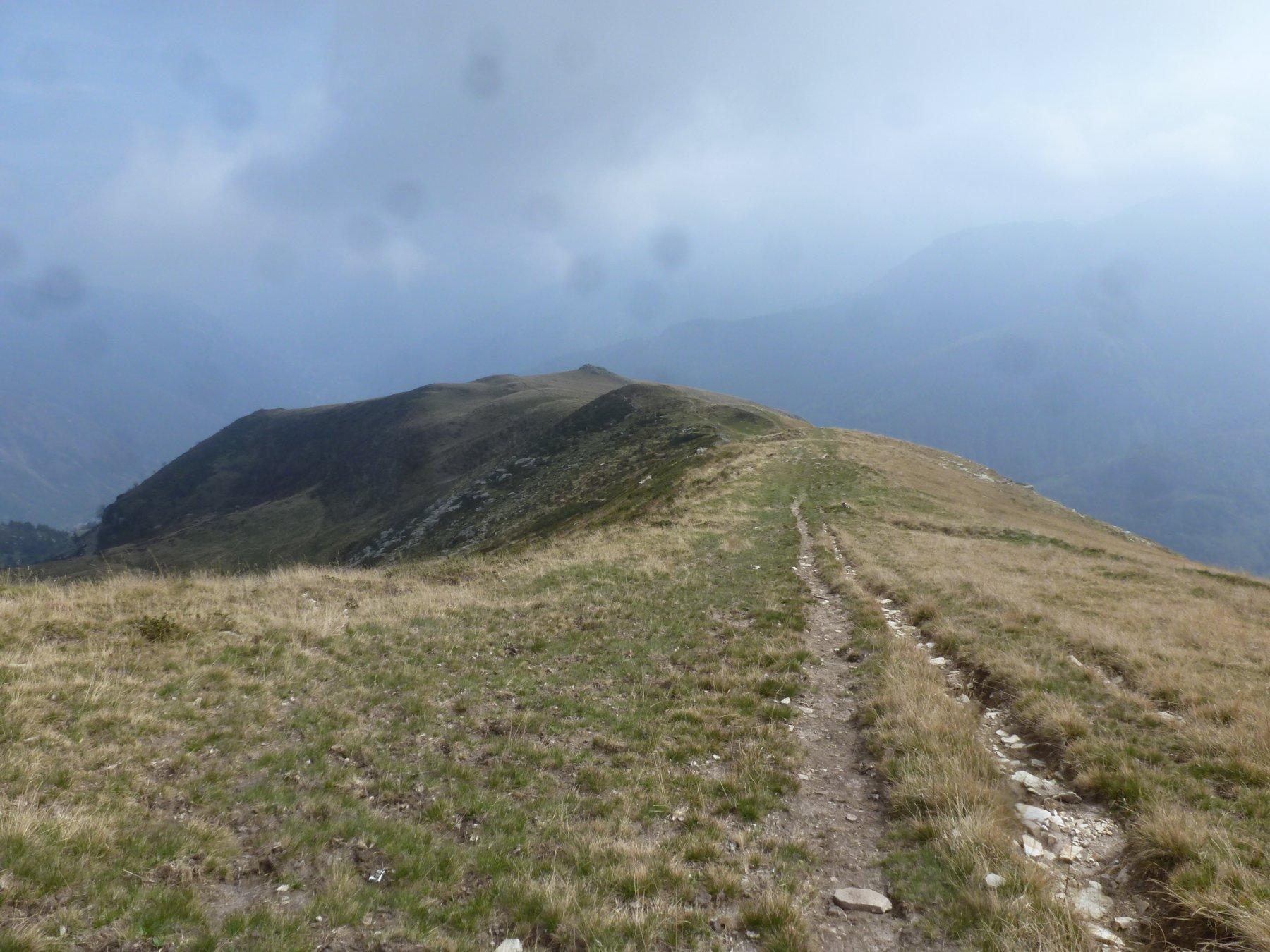 sentiero sulla dorsale