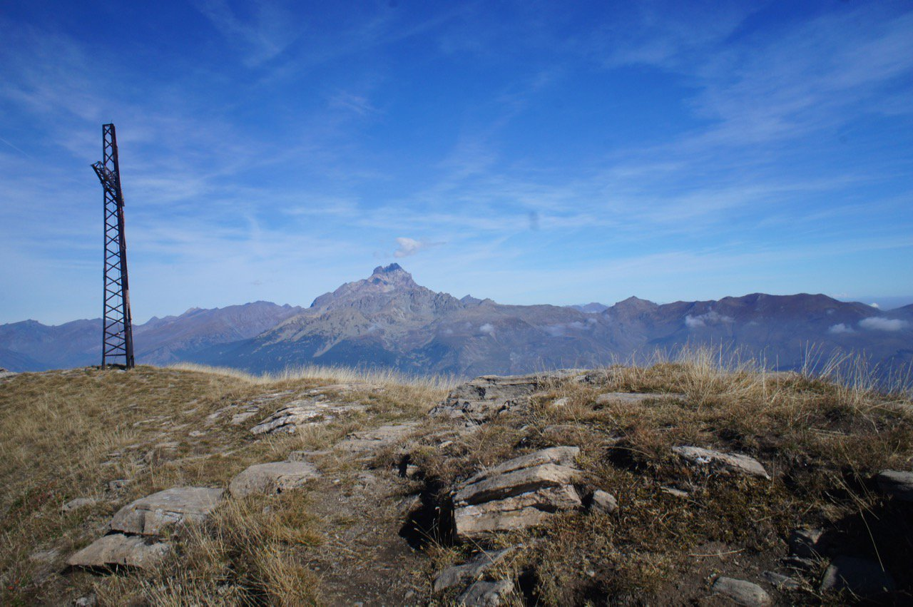 Monviso dal Monte Nebin