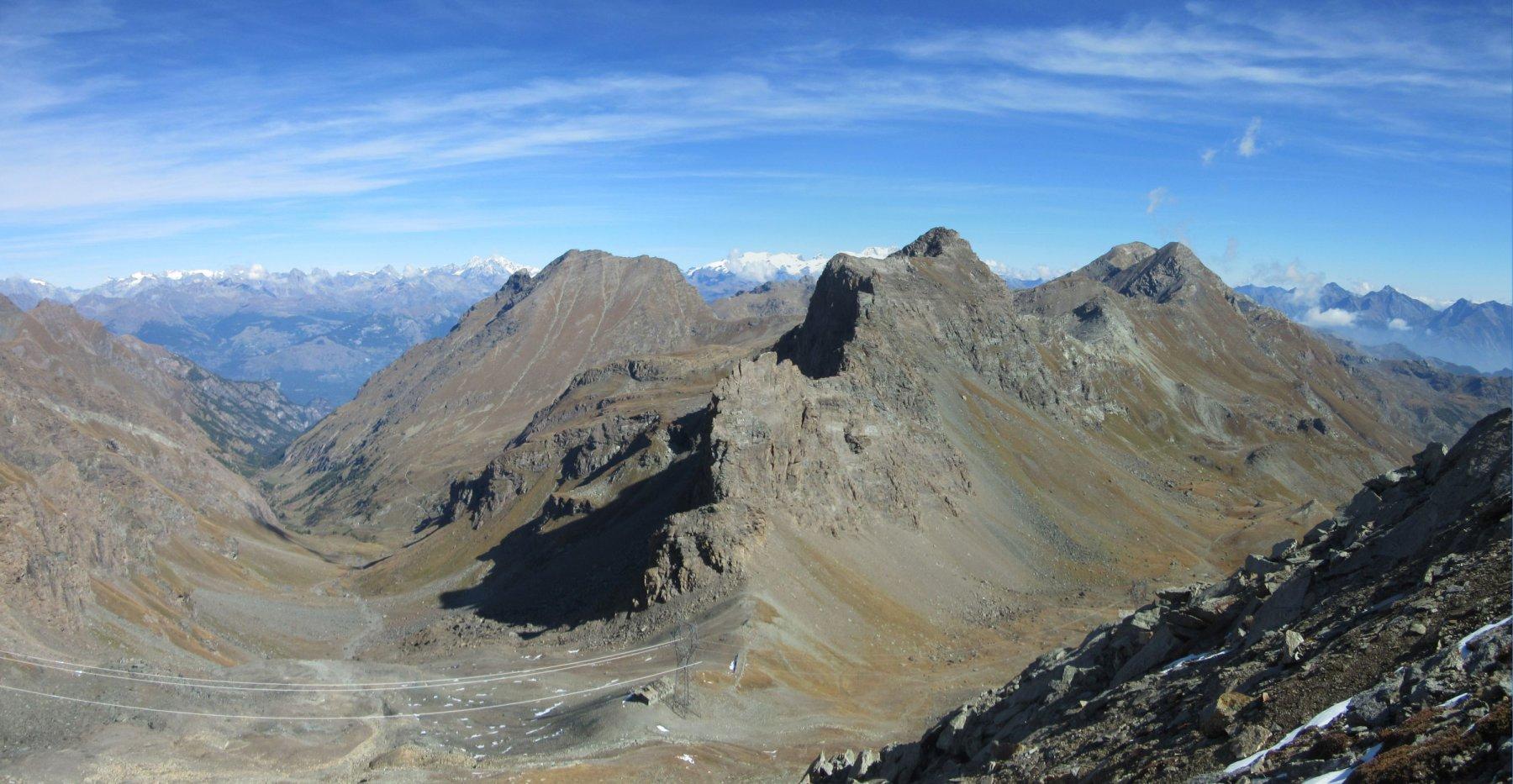 Val Clavalitè, monte Moutsaillon