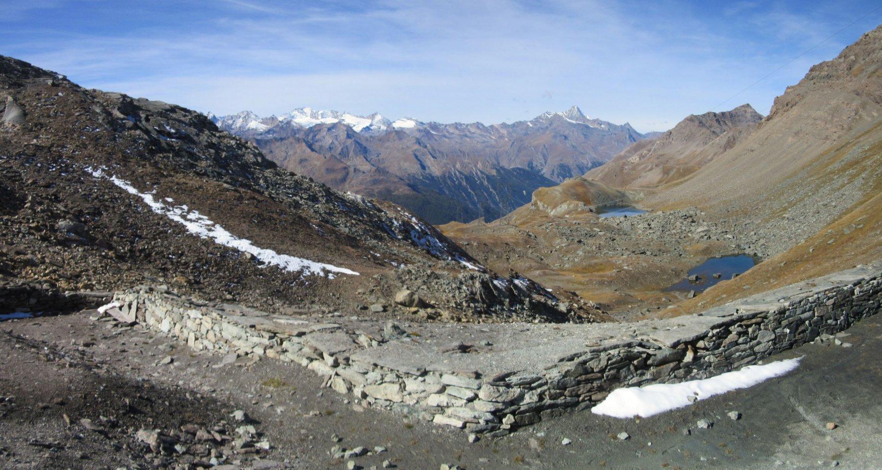 Panorama dal colle Pontonet