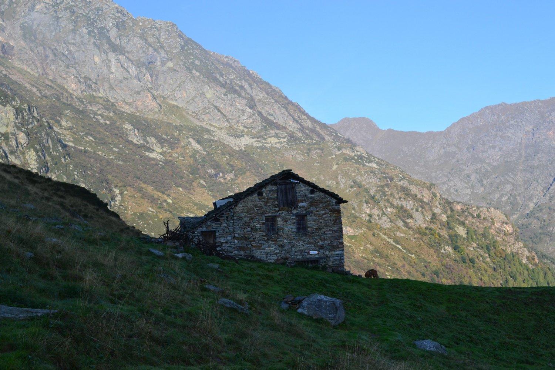 arrivo all'Alpe Vasnera (1731 m)