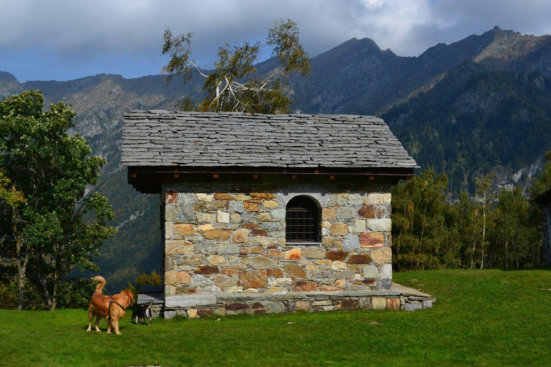 cappella dell'Alpe Argnaccia (1183 m)