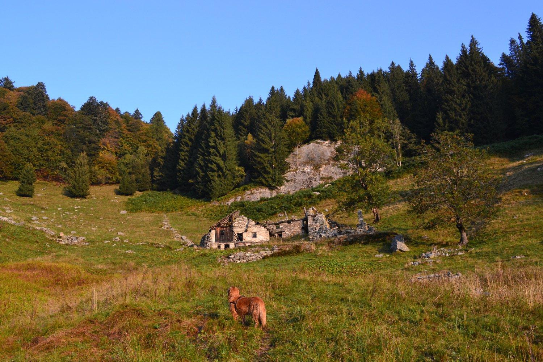 i ruderi di Campo dei Frei (1477 m)