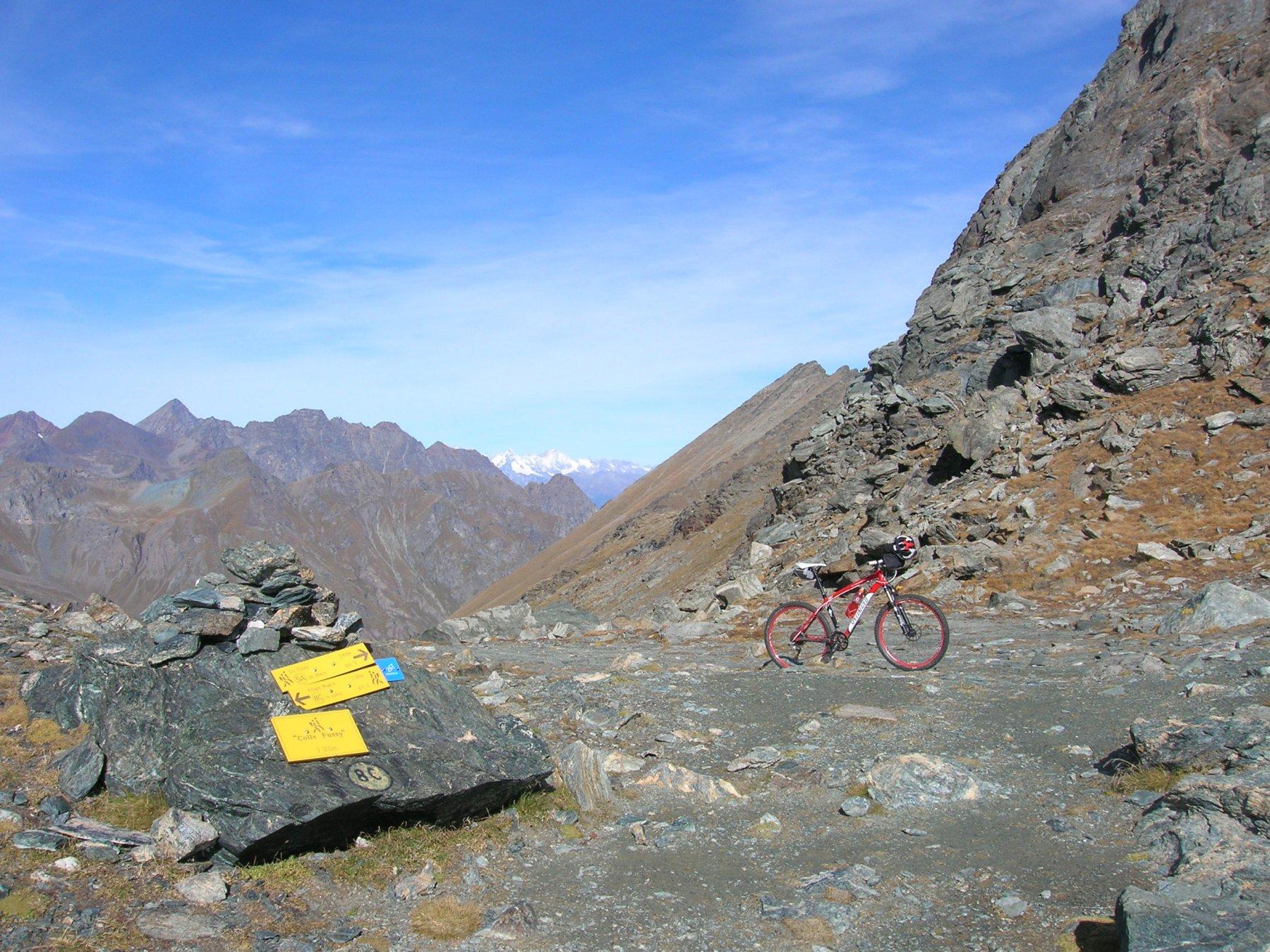 Al Col Fussy (2910m)