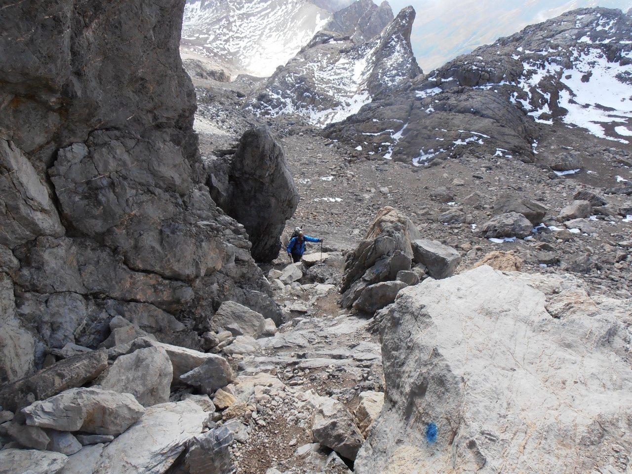 09 - primo canalino sopra la pietraia
