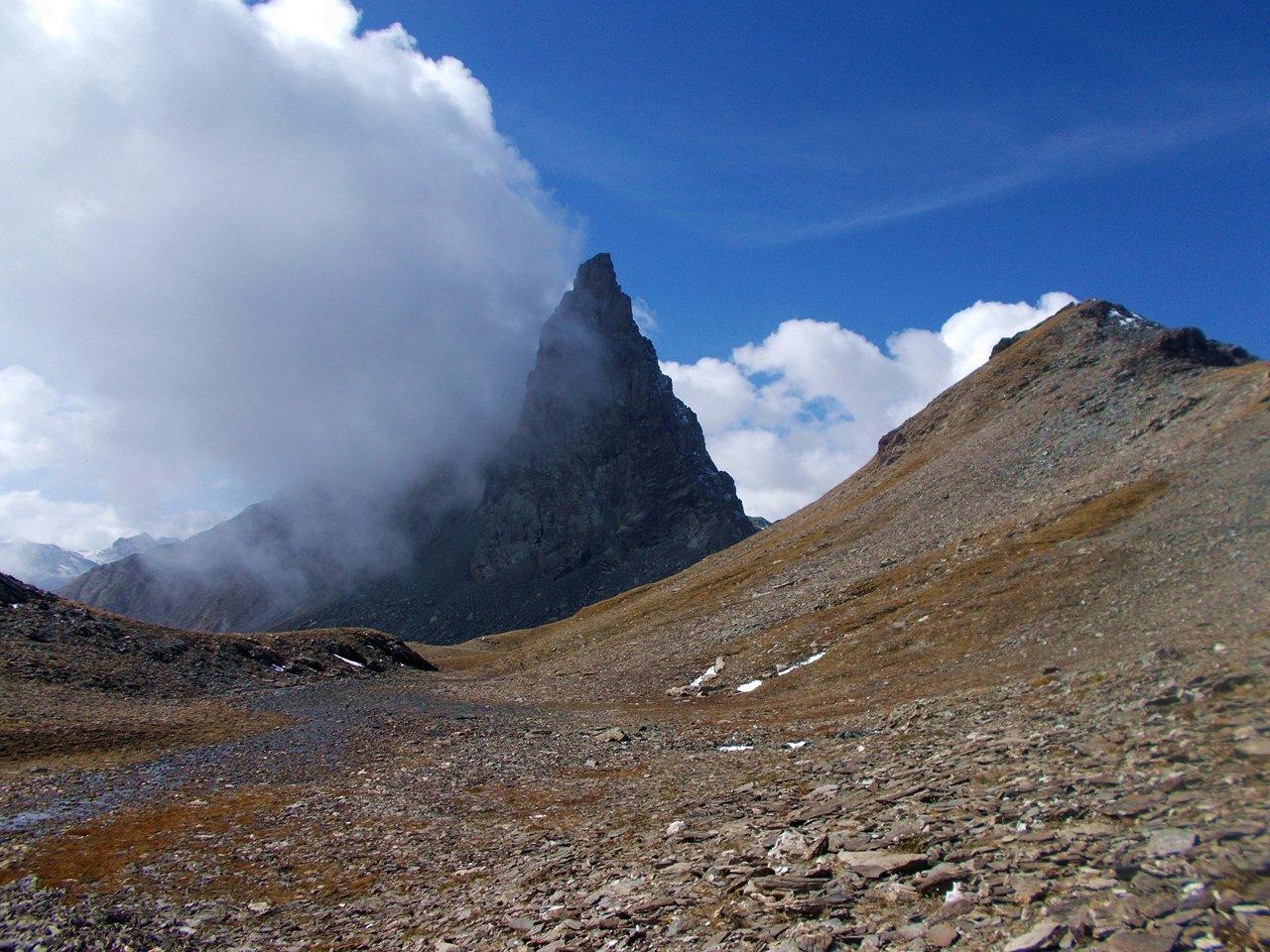 Nigro (Rocca del) da Chianale, anello per i colli Biancetta e di Saint Veran 2015-09-27