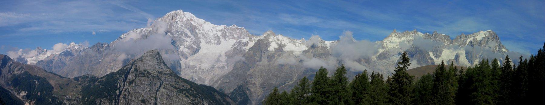 Monte Bianco e le sue vette