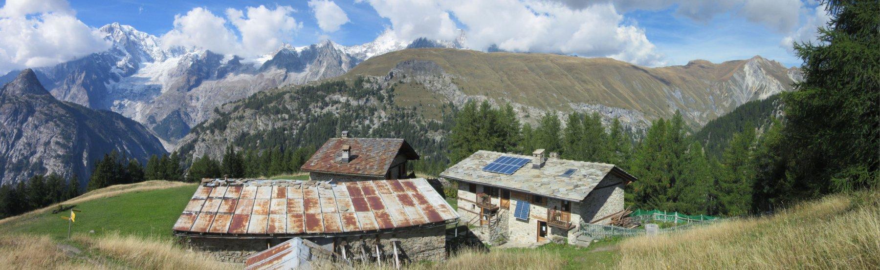 Alpe la Suche e Posto Tappa Allegri