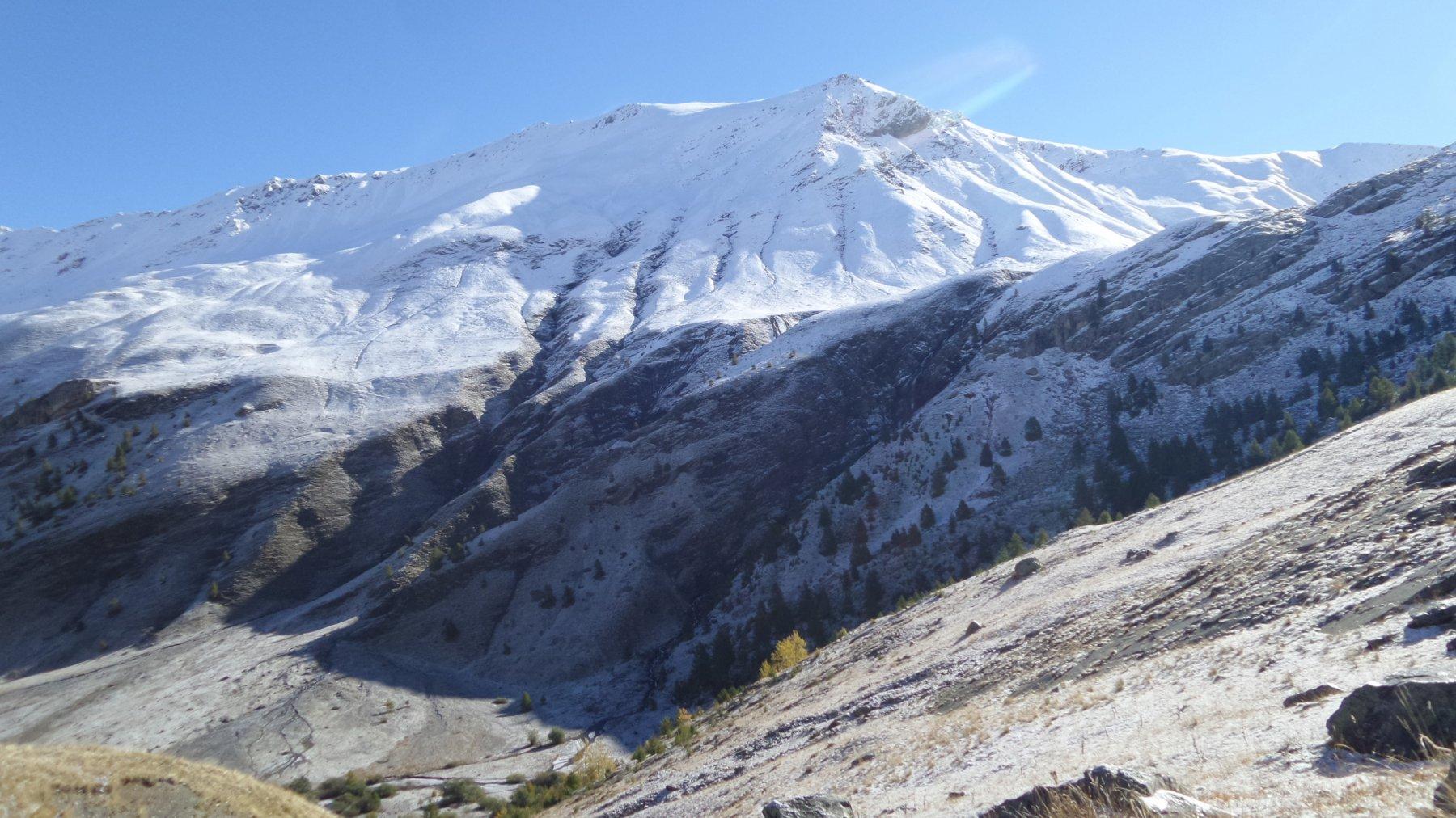 il Ventasuso visto dalla Val Fourane (4-10-2015)