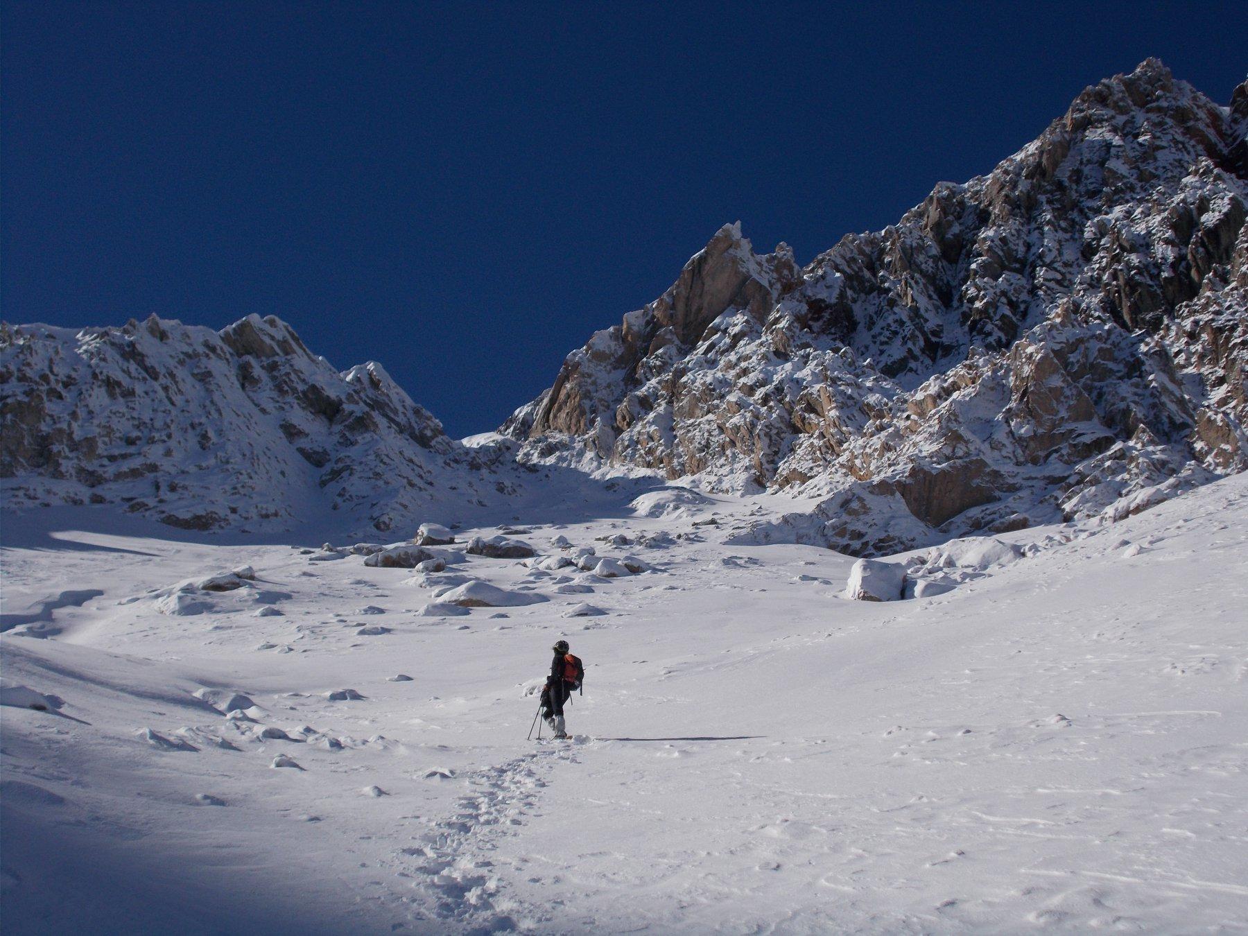 verso il Col de Peygus..