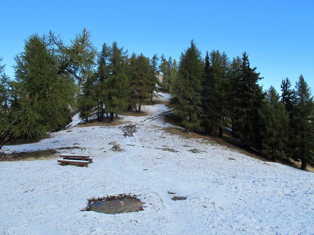 Al Colle du Mont Blanc