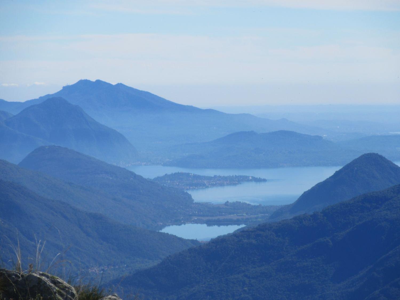 Vista sul Lago Maggiore e di Mergozzo