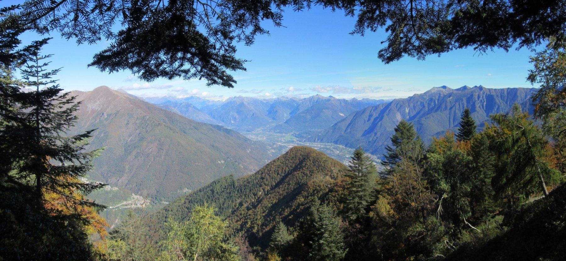Panorama sulla Valle Ossola