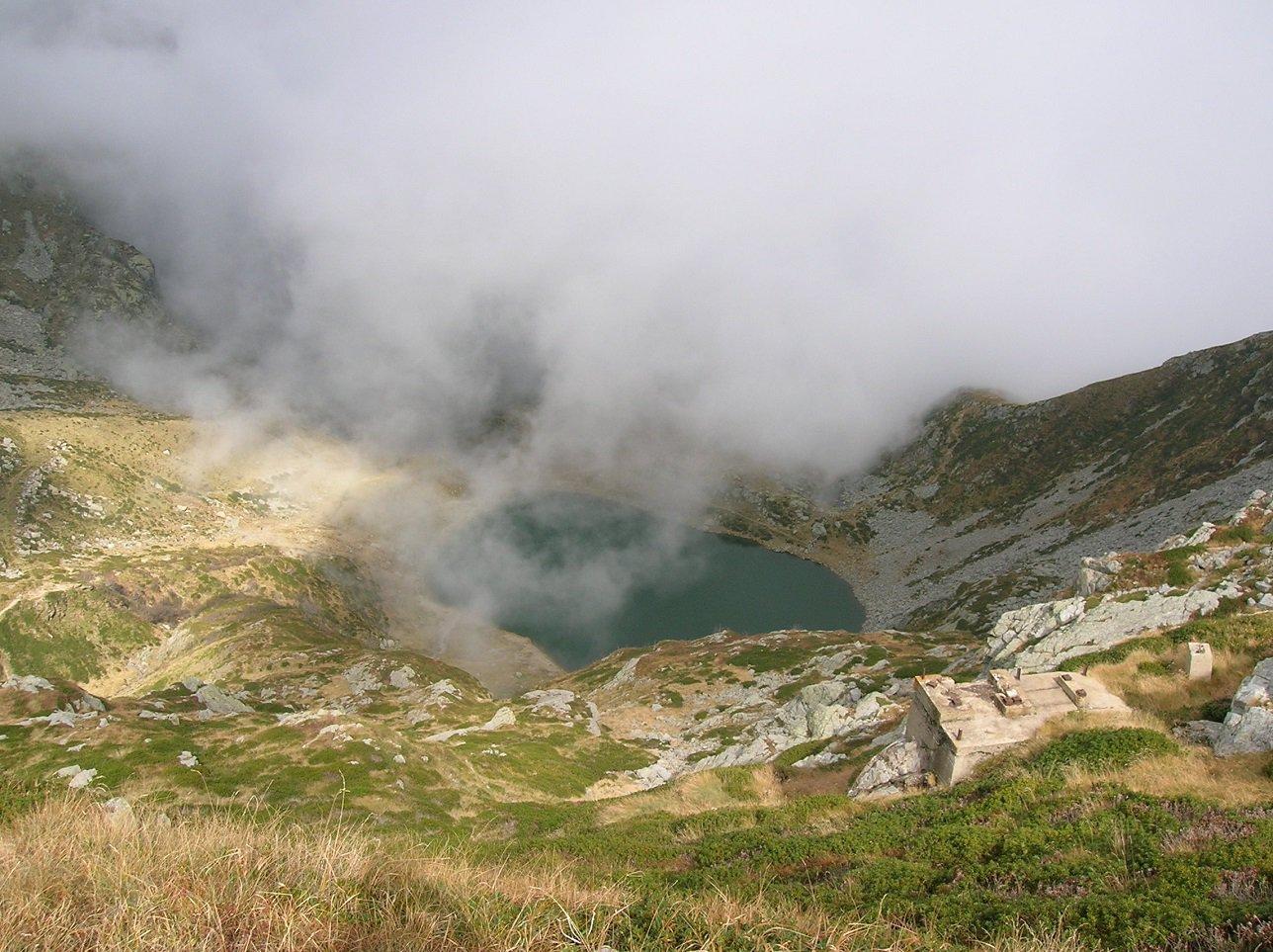 lago mucrone scendendo