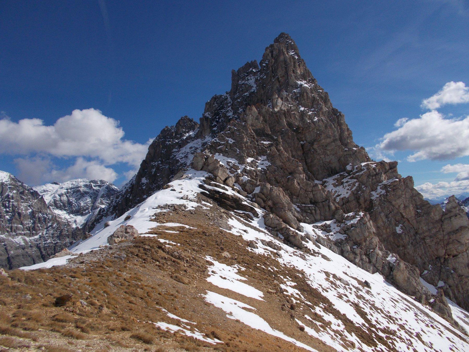 La punta Questa dal Col des Meandes..