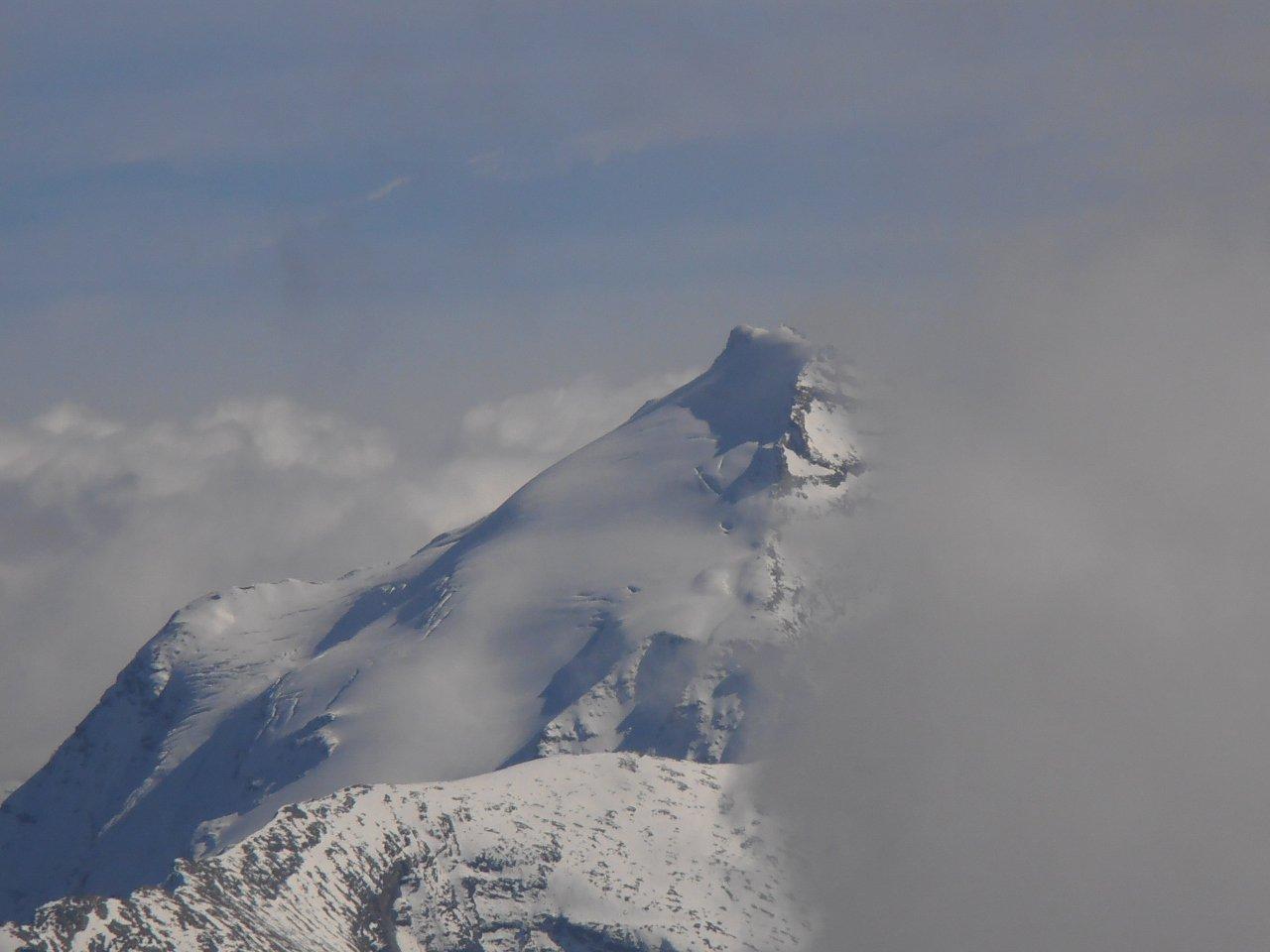 12 - Charbonnel con ghiacciaio innevato da poco
