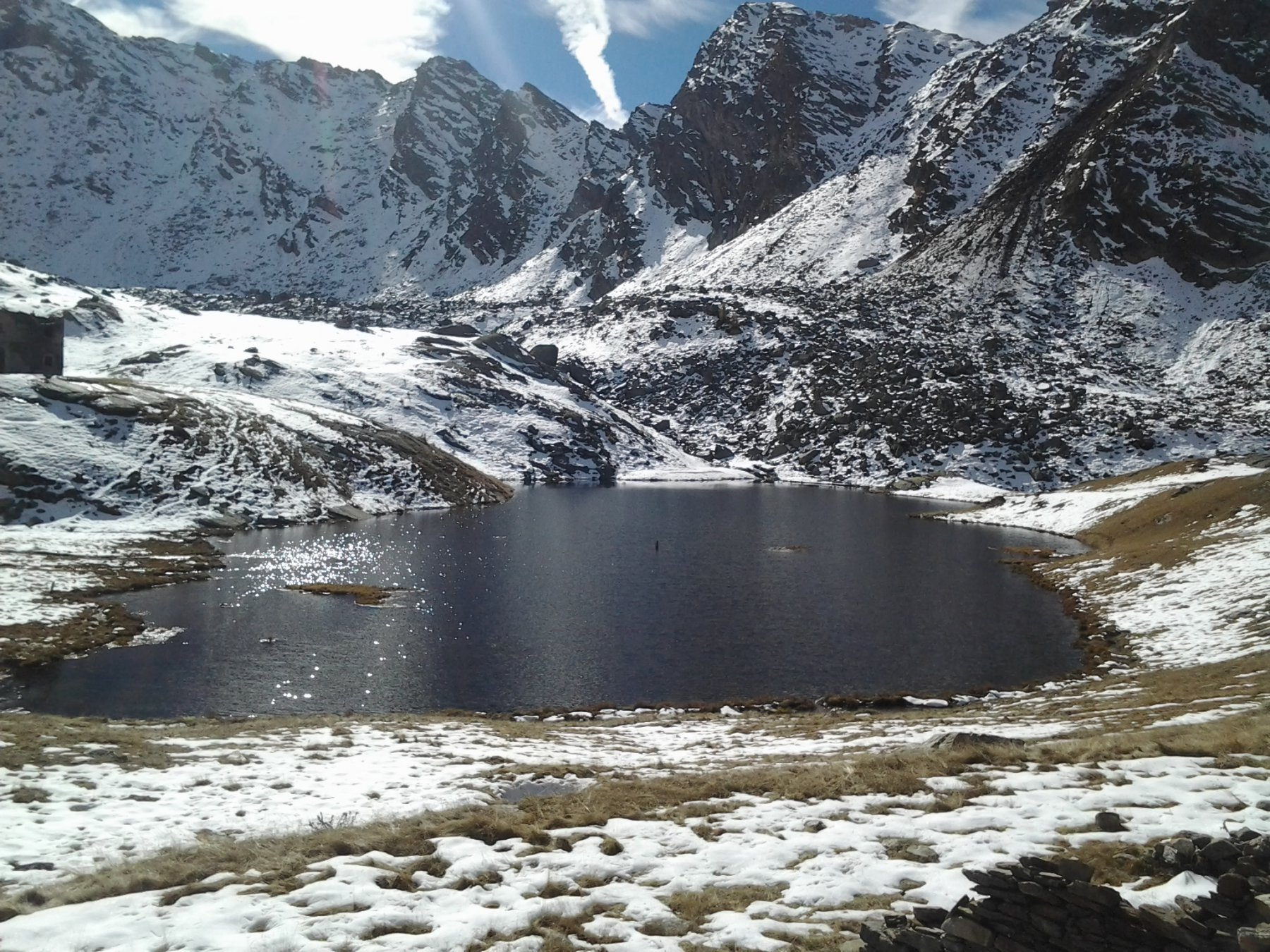 Il lago piu' a valle...